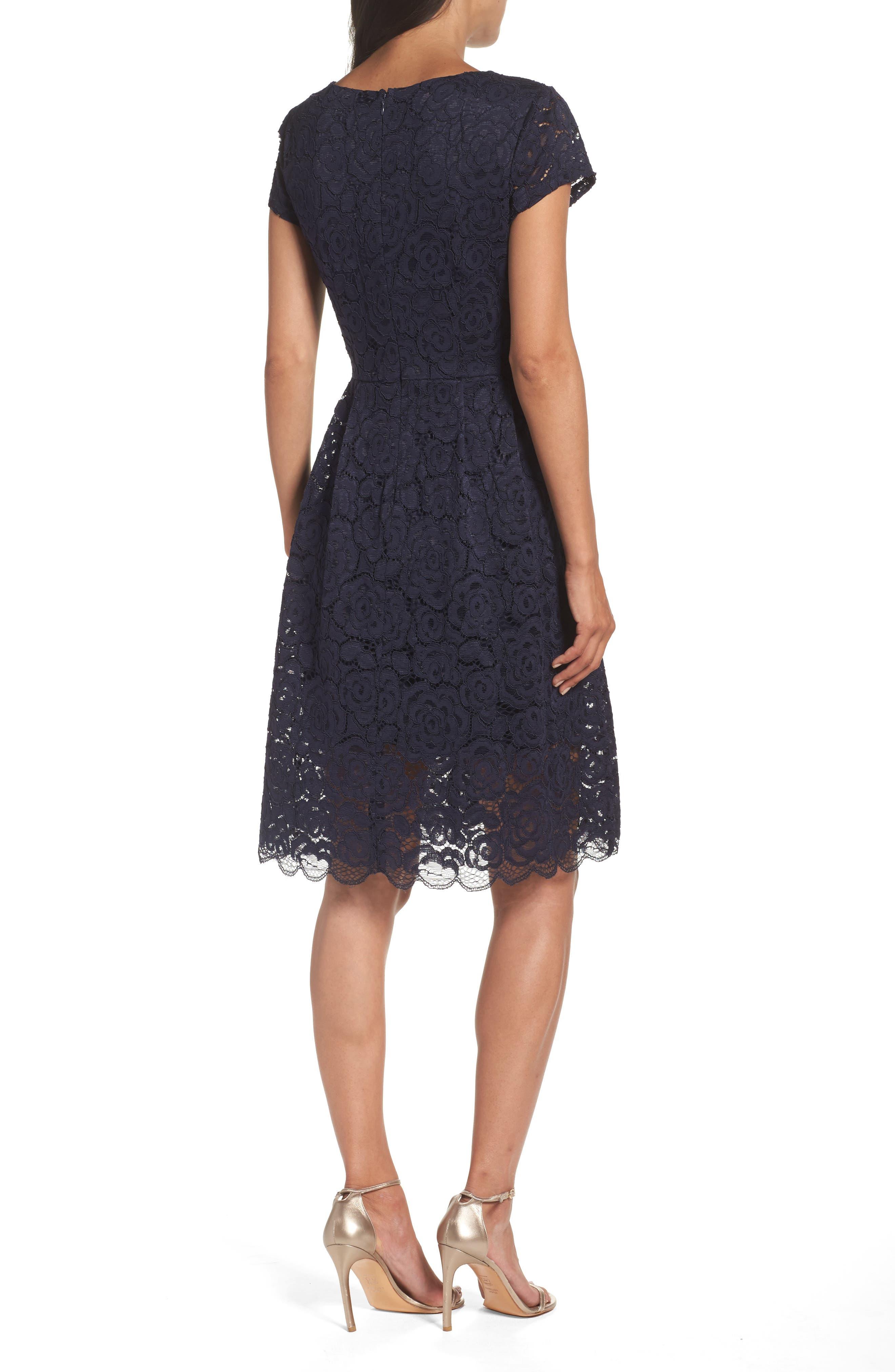 Lace Dress,                             Alternate thumbnail 2, color,                             410
