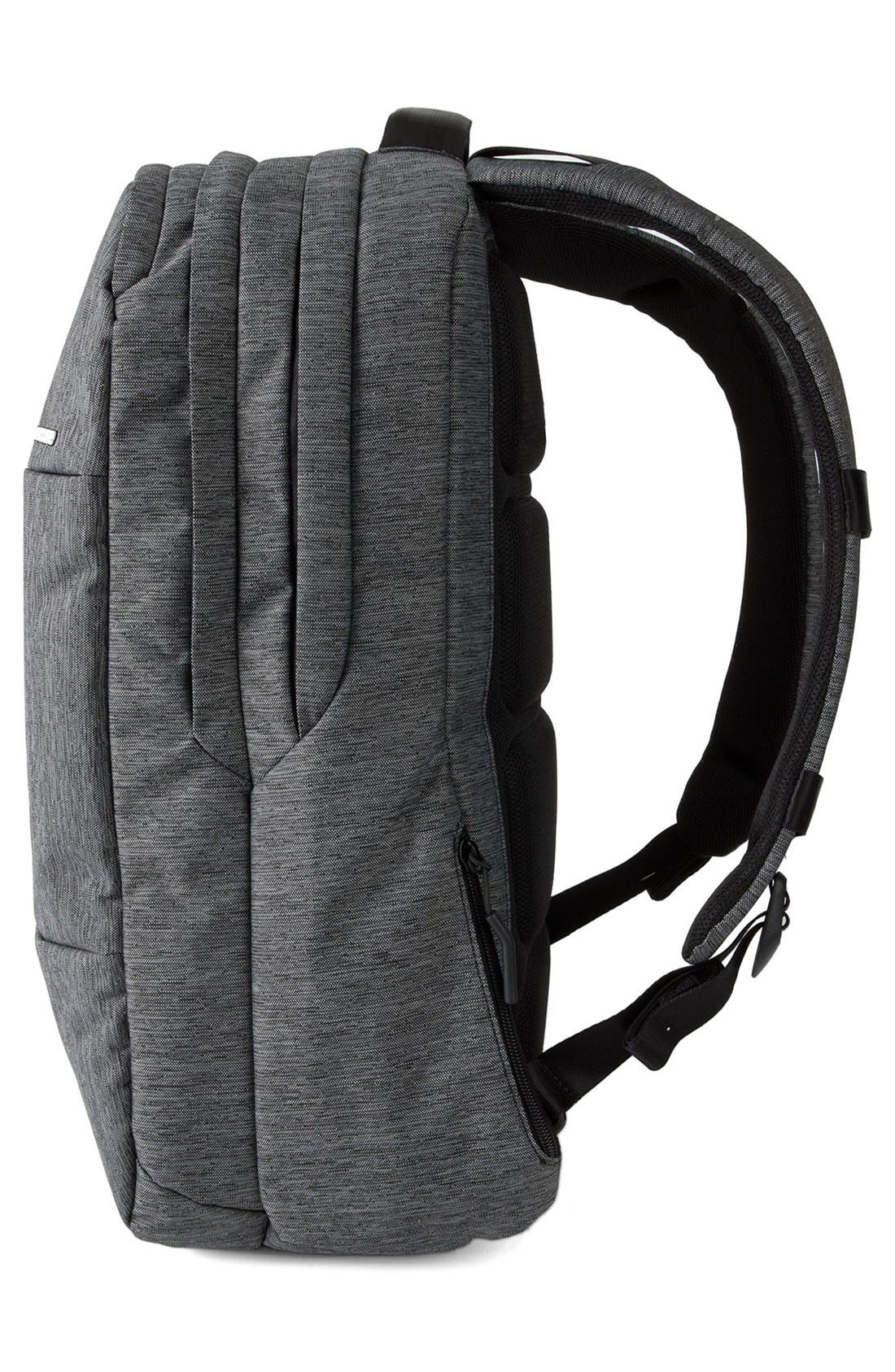 City Collection Backpack,                             Alternate thumbnail 4, color,                             HEATHER BLACK/ GUNMETAL GREY