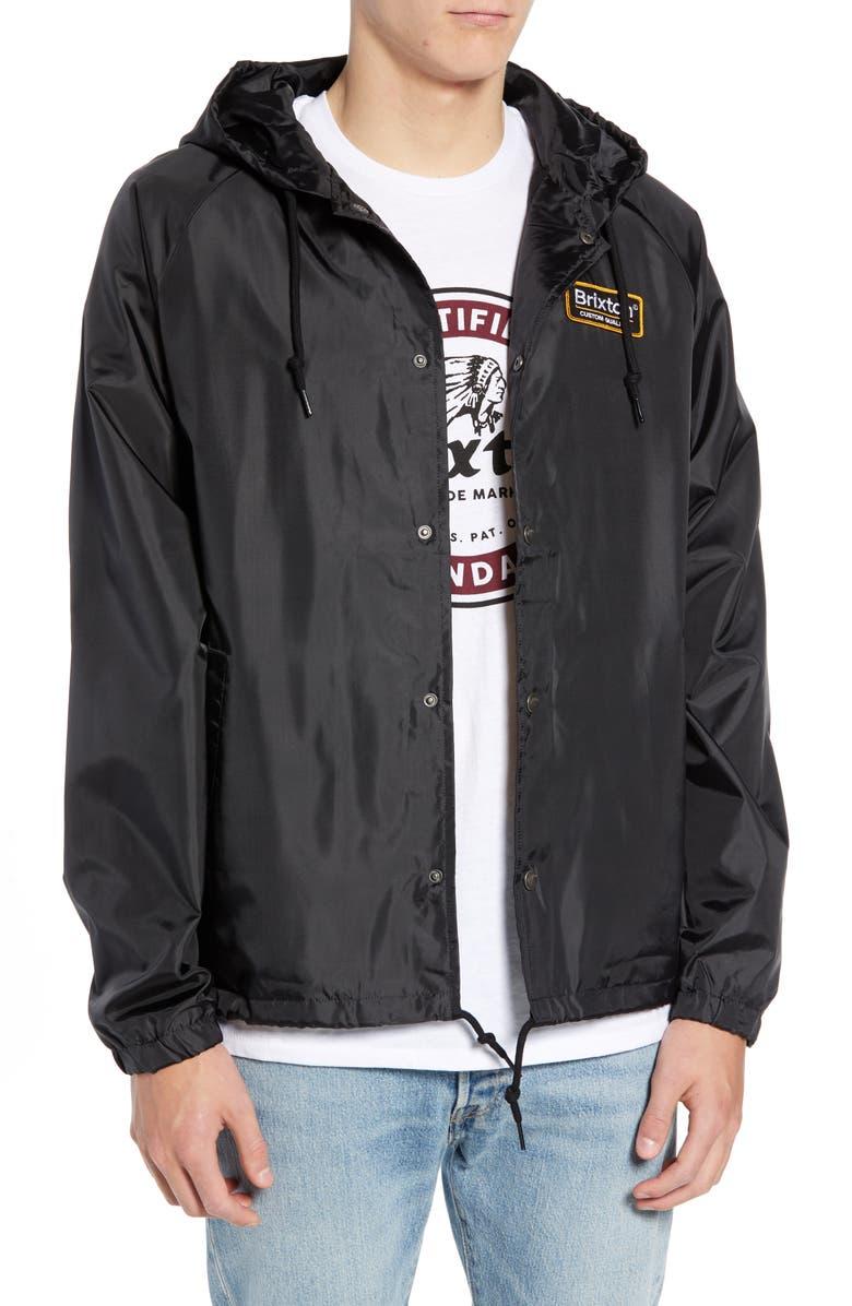 Brixton Palmer Hooded Jacket  64f952f9409