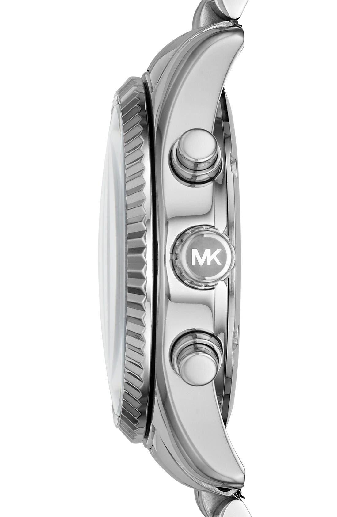 'Lexington' Chronograph Bracelet Watch, 38mm,                             Alternate thumbnail 18, color,