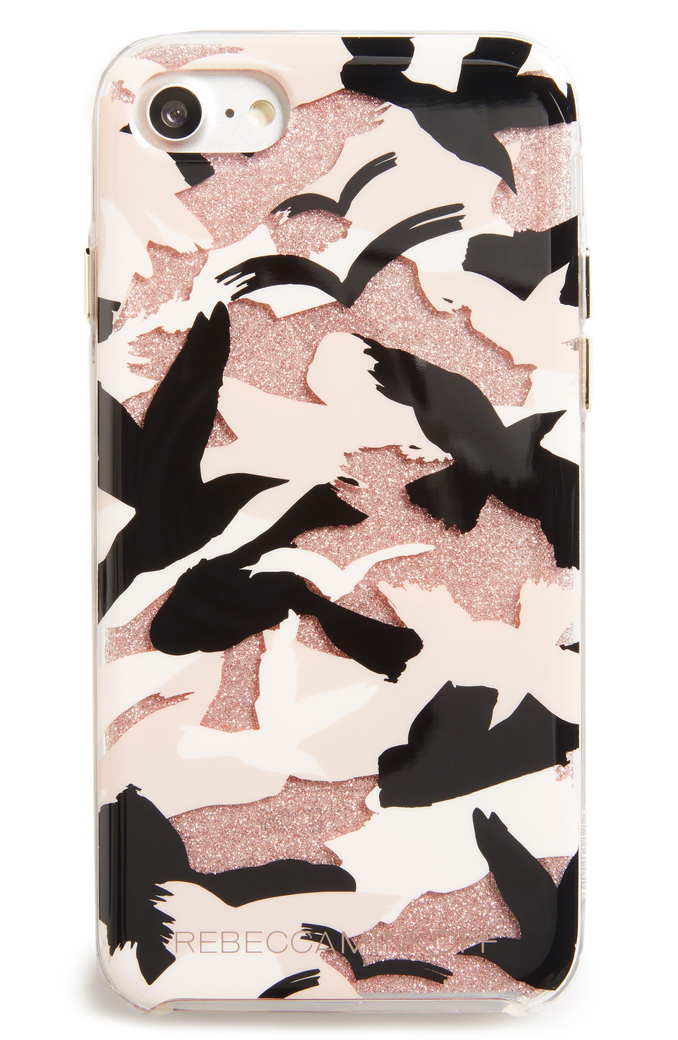 Camo Bird iPhone 7/8 Case,                         Main,                         color,