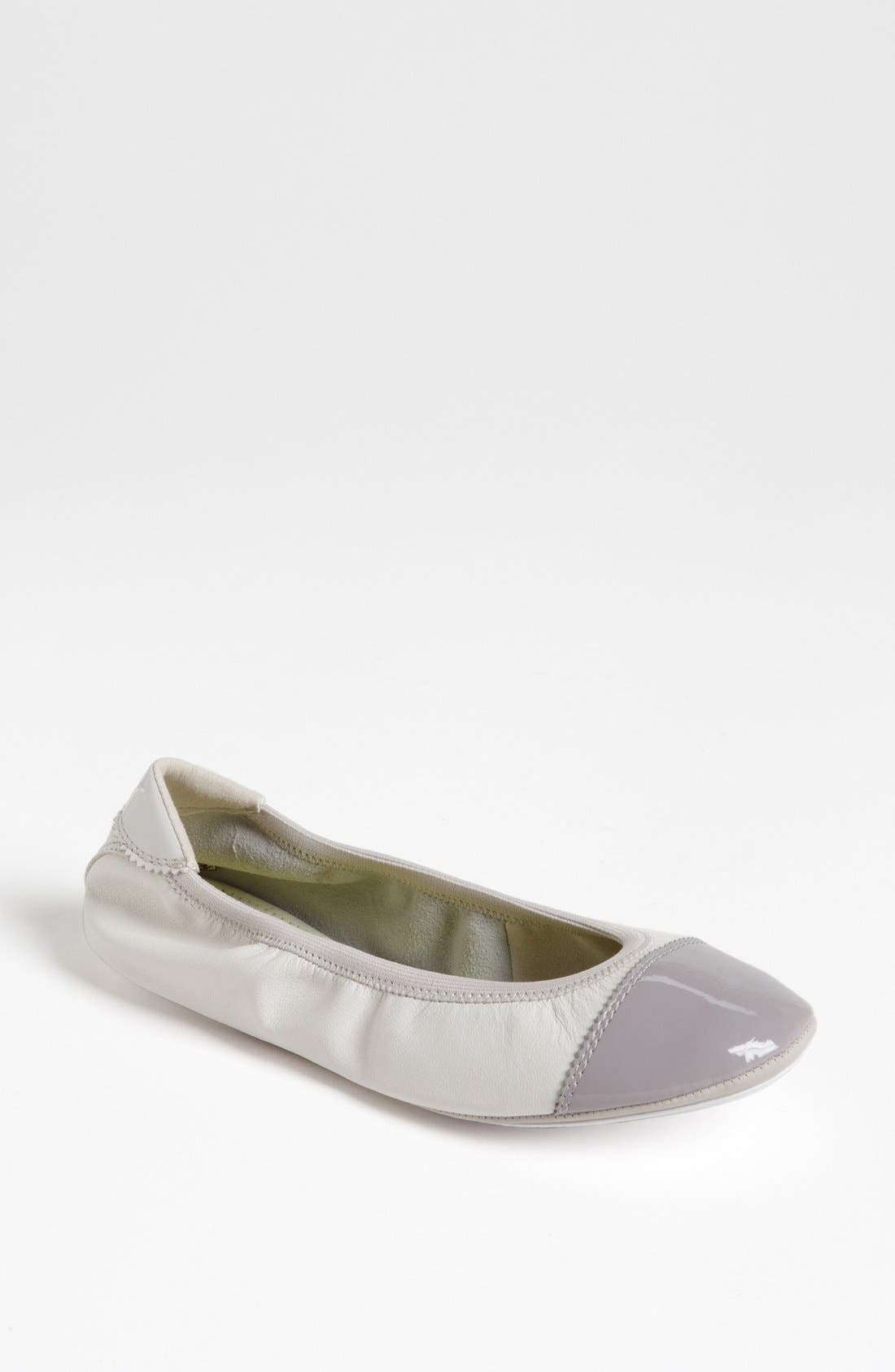 'Kitara' Cap Toe Ballet Flat,                             Main thumbnail 3, color,