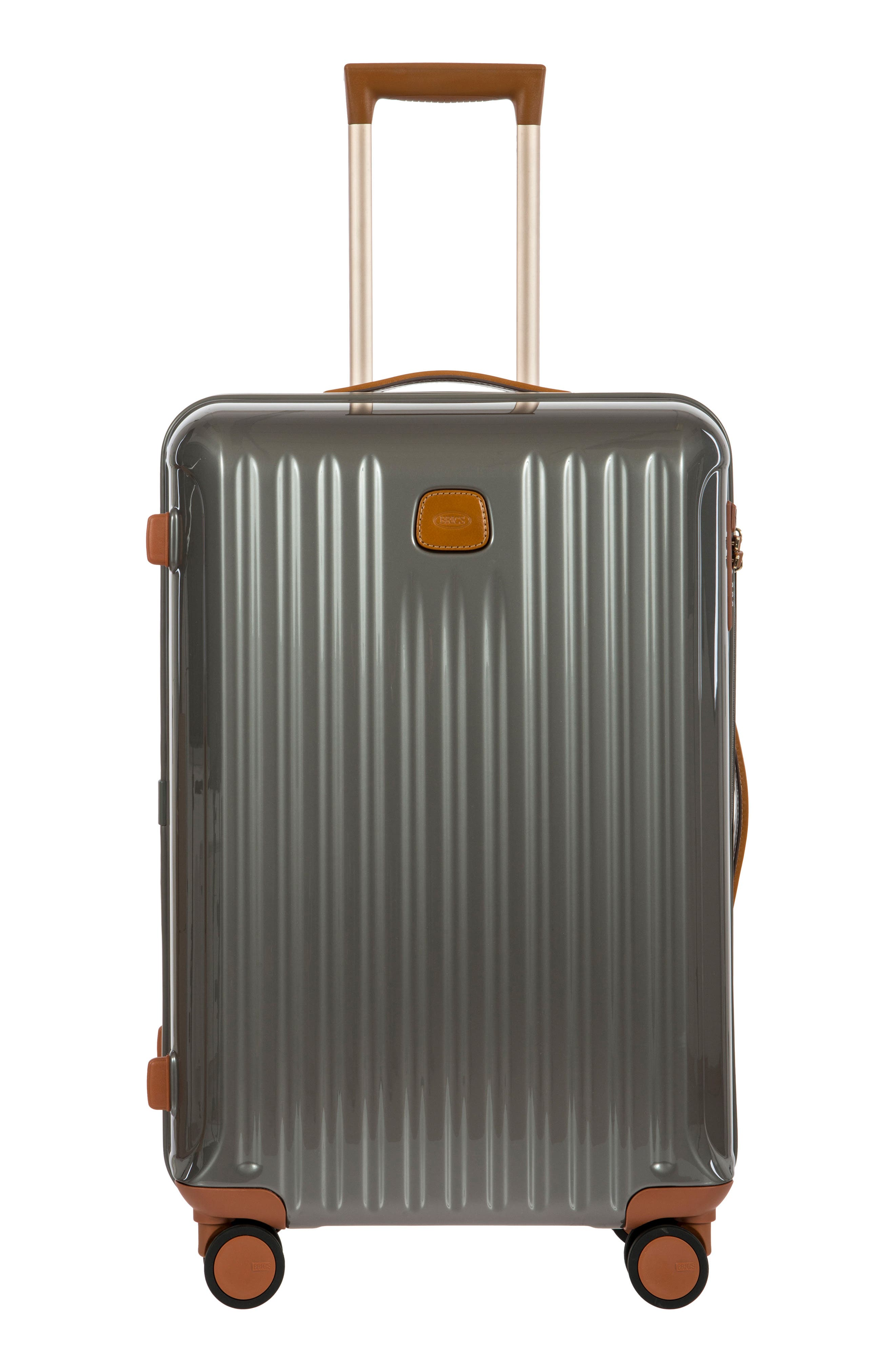 Capri 27-Inch Rolling Suitcase,                             Main thumbnail 1, color,                             GREY