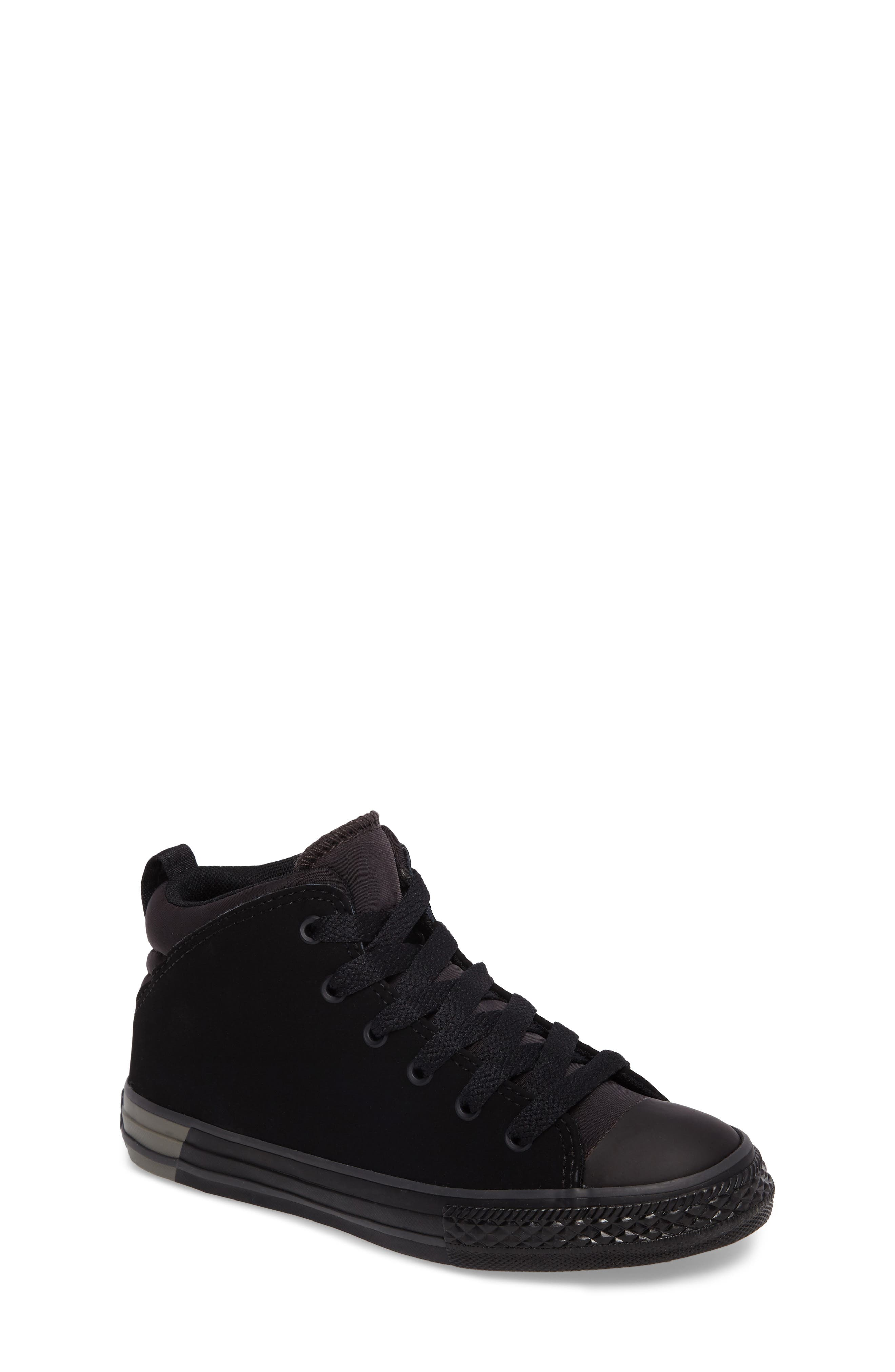 Chuck Taylor<sup>®</sup> All Star<sup>®</sup> Official High Top Sneaker,                             Main thumbnail 1, color,                             001