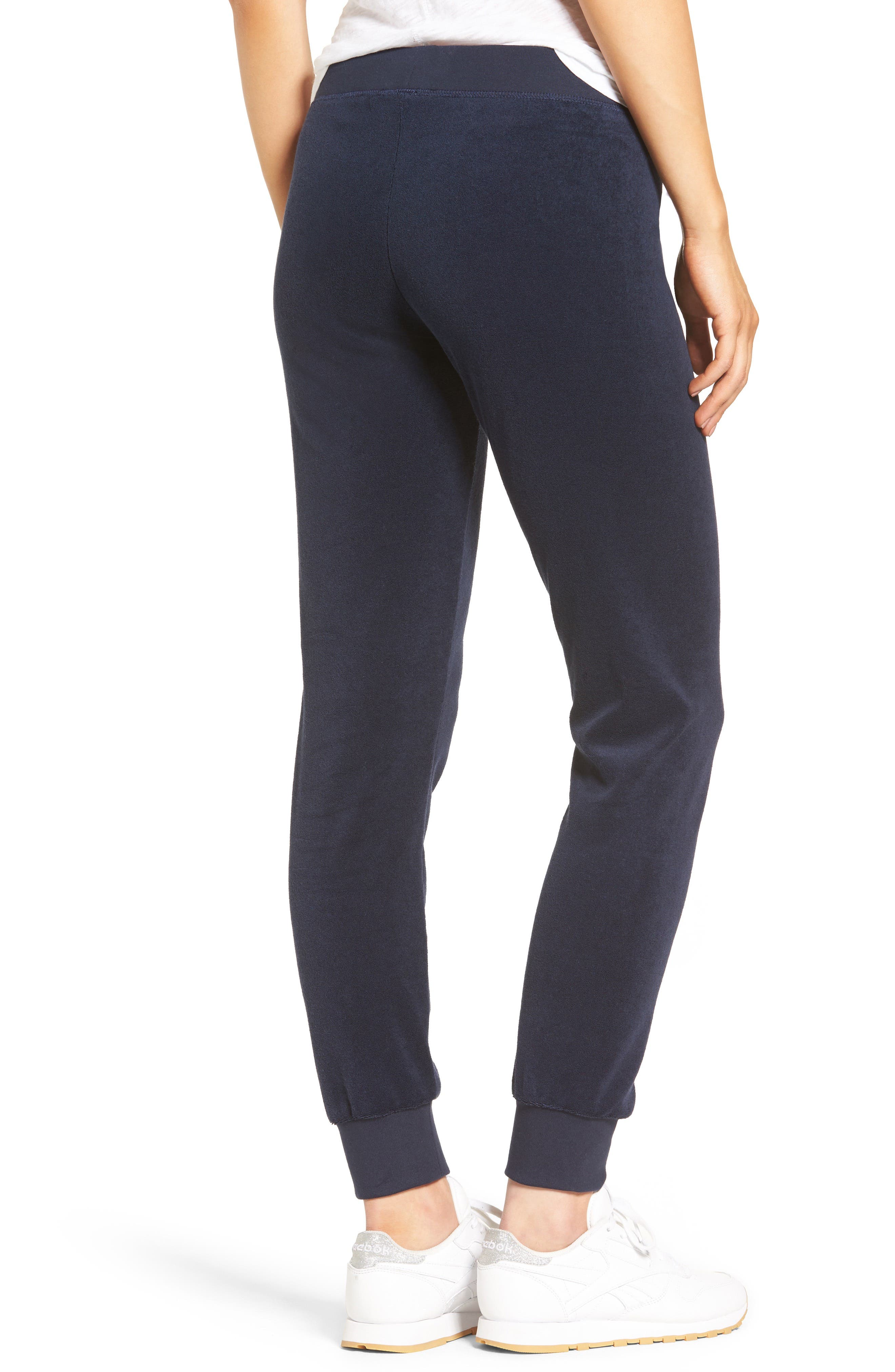 Zuma Microterry Track Pants,                             Alternate thumbnail 8, color,