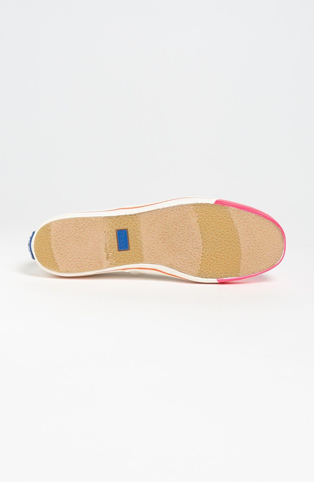 Keds<sup>®</sup> for kate spade new york 'kick' sneaker,                             Alternate thumbnail 15, color,