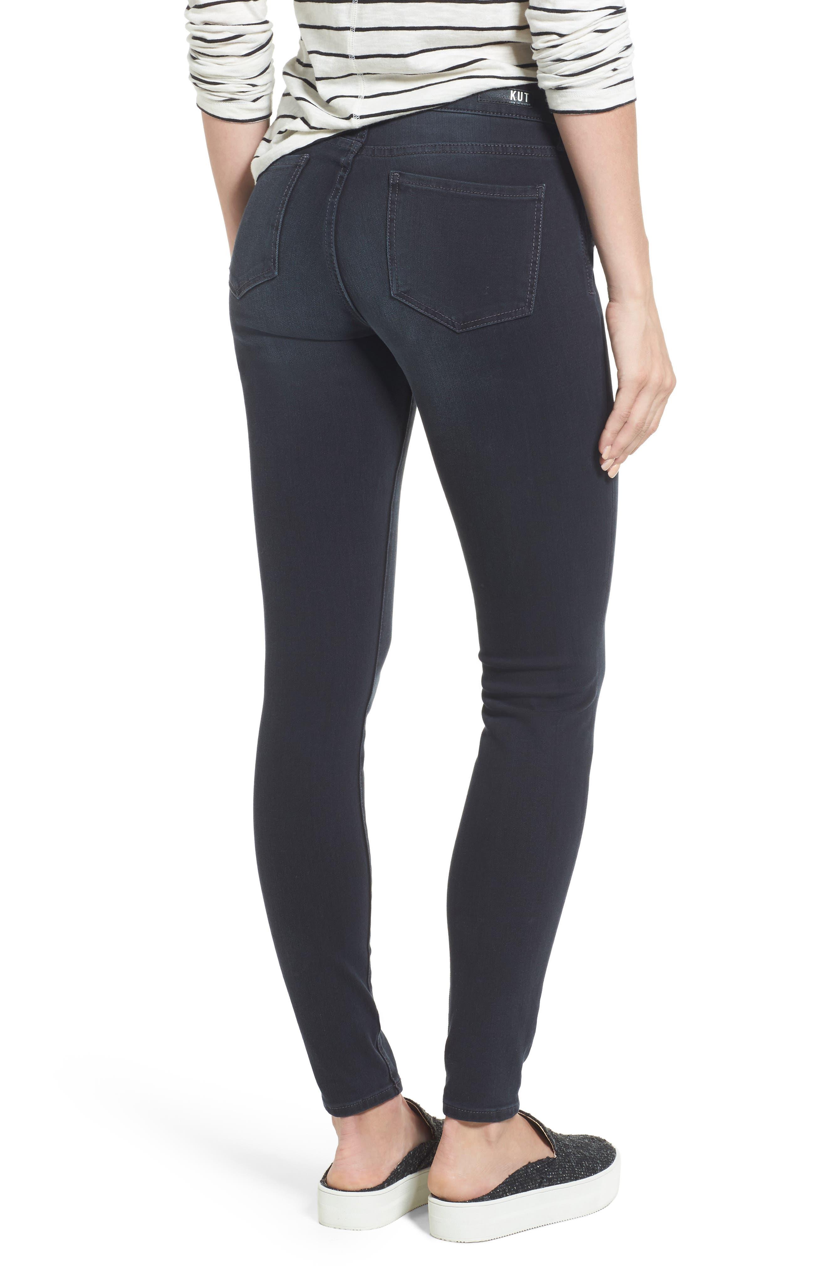 Mia Toothpick Skinny Jeans,                             Alternate thumbnail 2, color,                             071