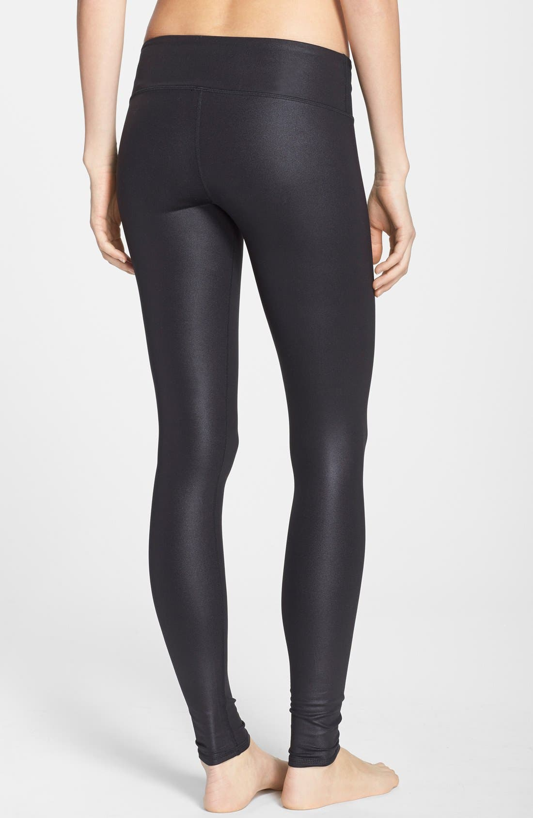 'Airbrushed' Leggings,                             Alternate thumbnail 3, color,                             001