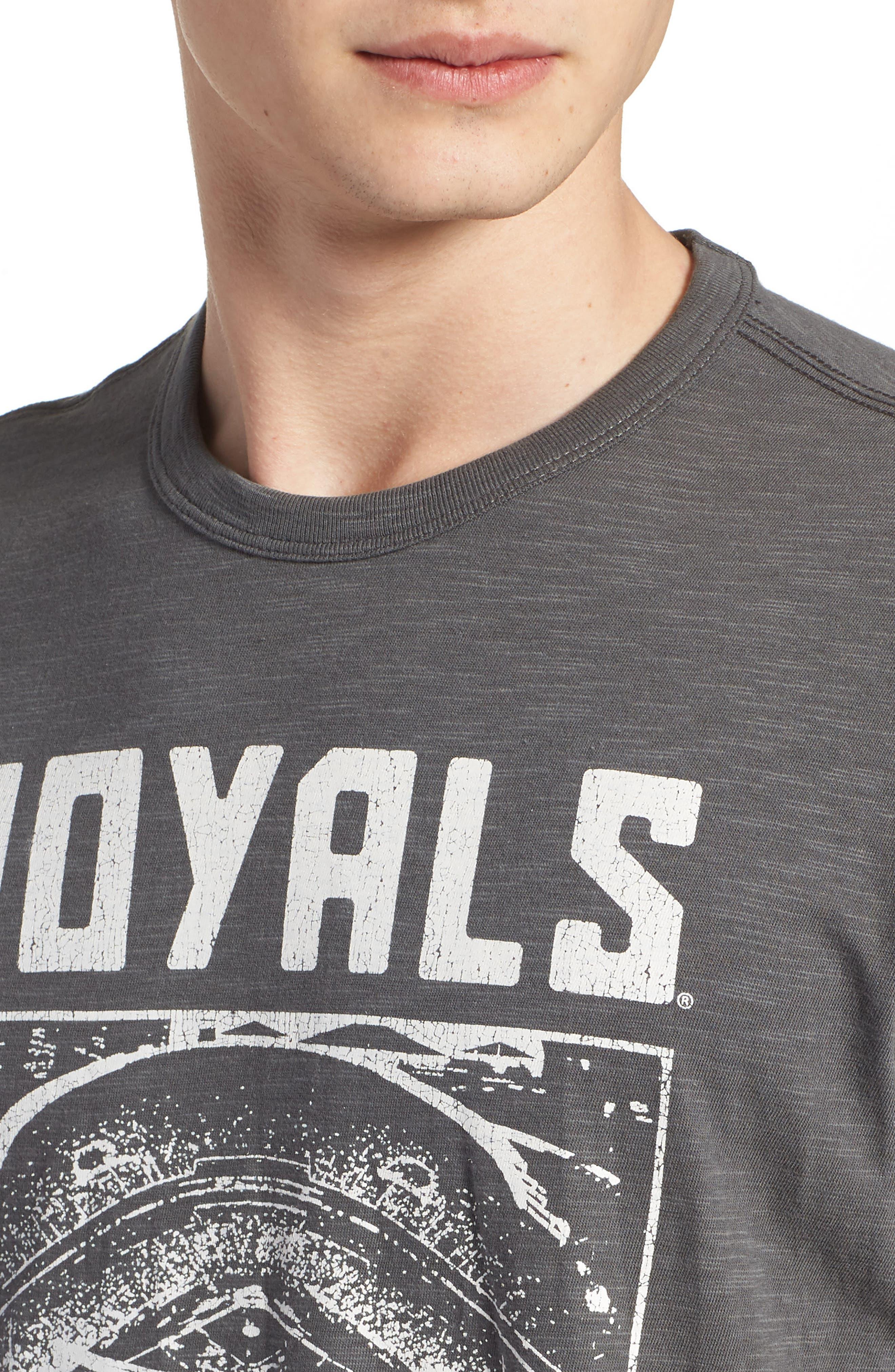 MLB Overdrive Scrum Kansas City Royals T-Shirt,                             Alternate thumbnail 4, color,                             SUBMARINE