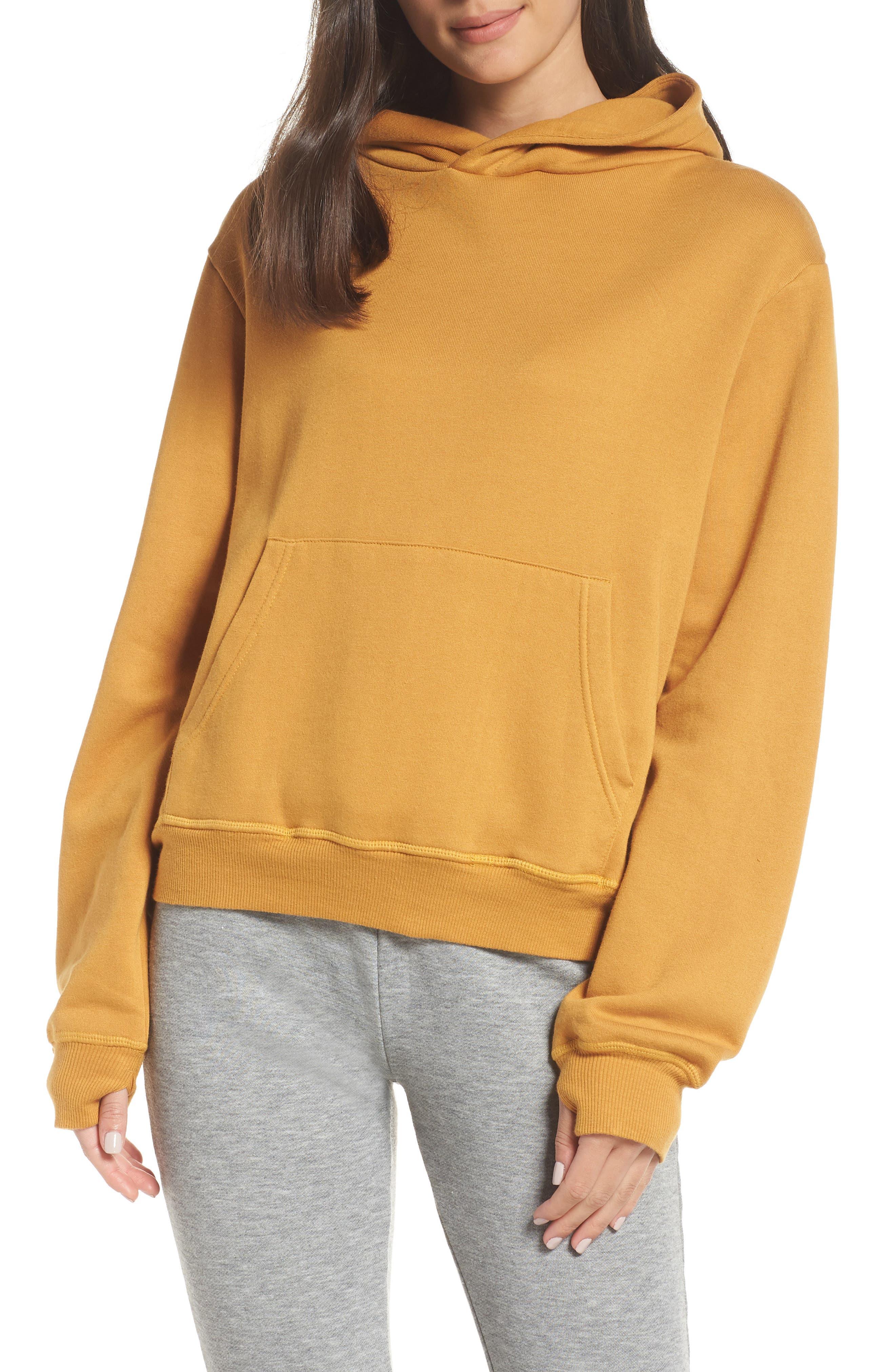 RAGDOLL Hoodie Sweatshirt in Dark Yellow