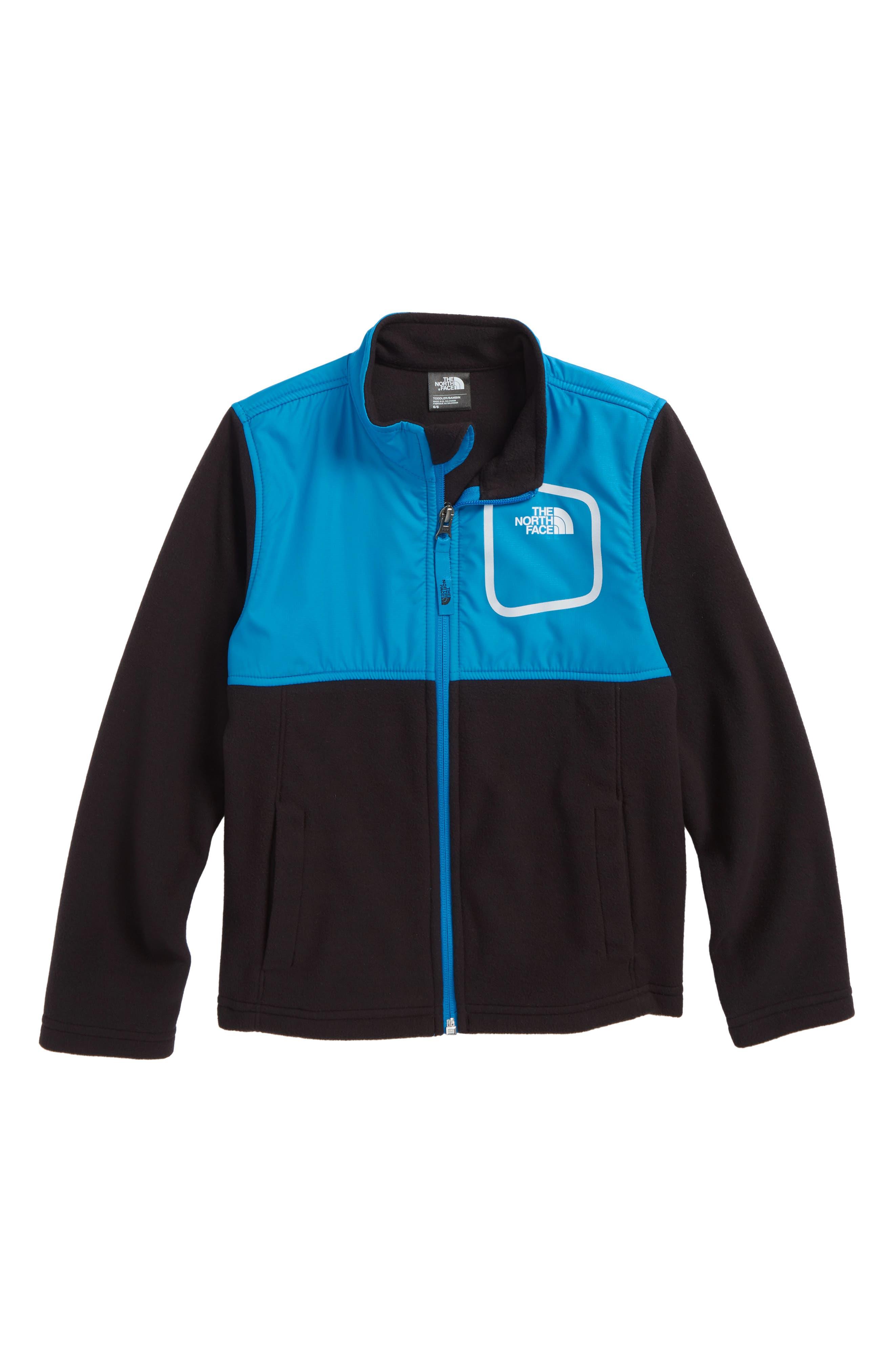 Peril Glacier Microfleece Track Jacket,                             Main thumbnail 1, color,                             HYPER BLUE