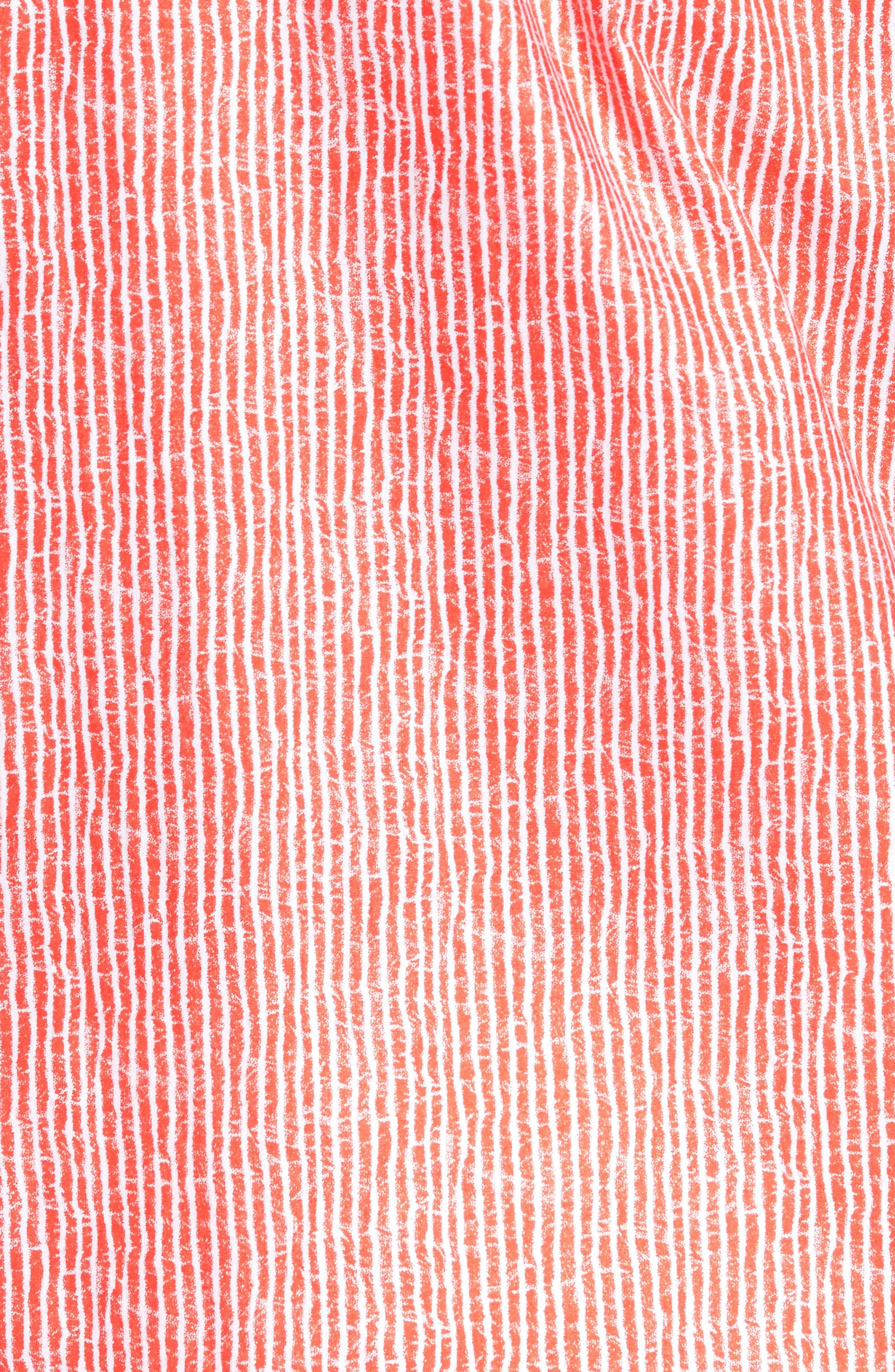 Shaped Fit Stripe Sport Shirt,                             Alternate thumbnail 32, color,