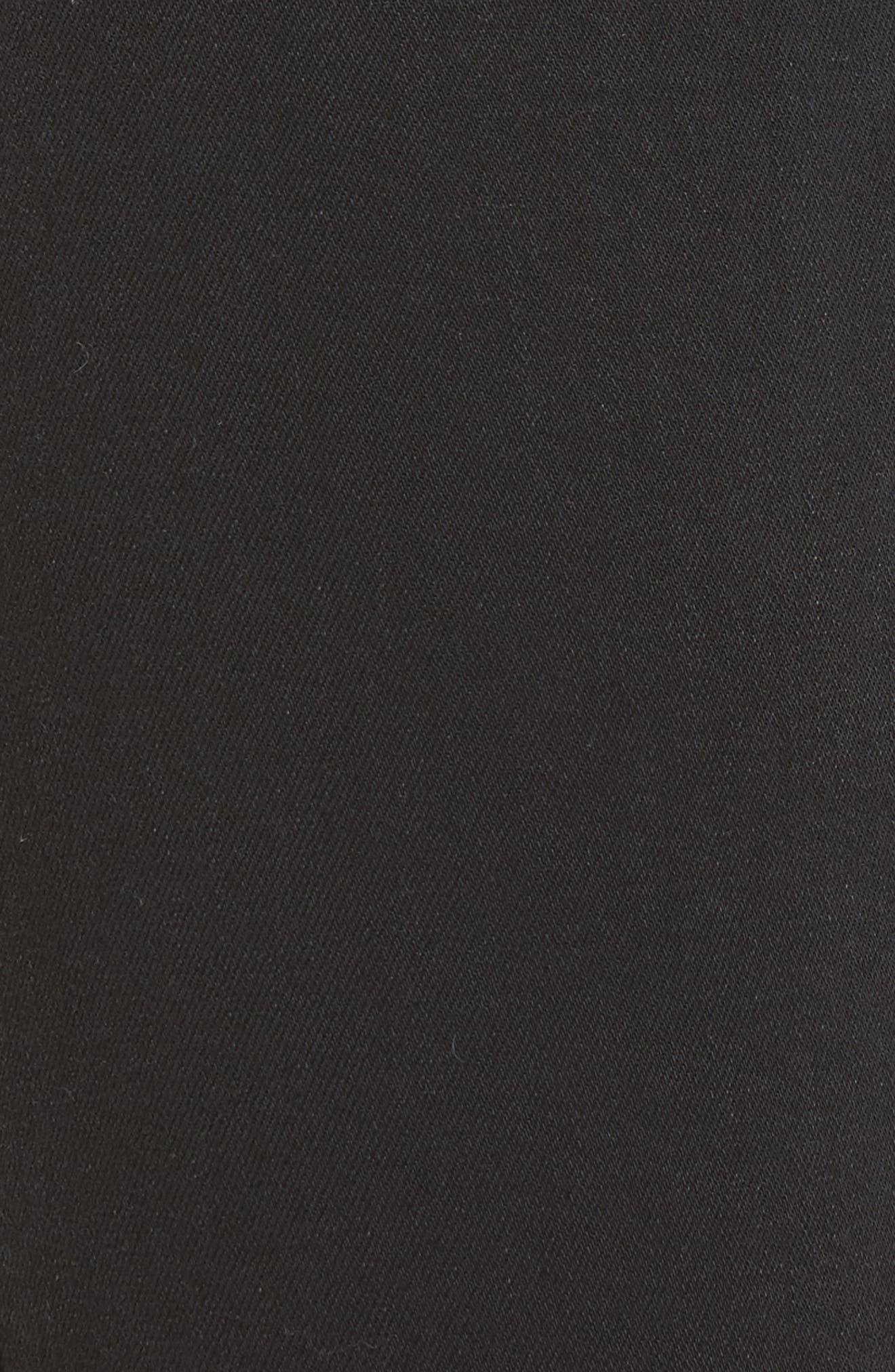 Transcend - Colette High Waist Crop Flare Jeans,                             Alternate thumbnail 6, color,                             001