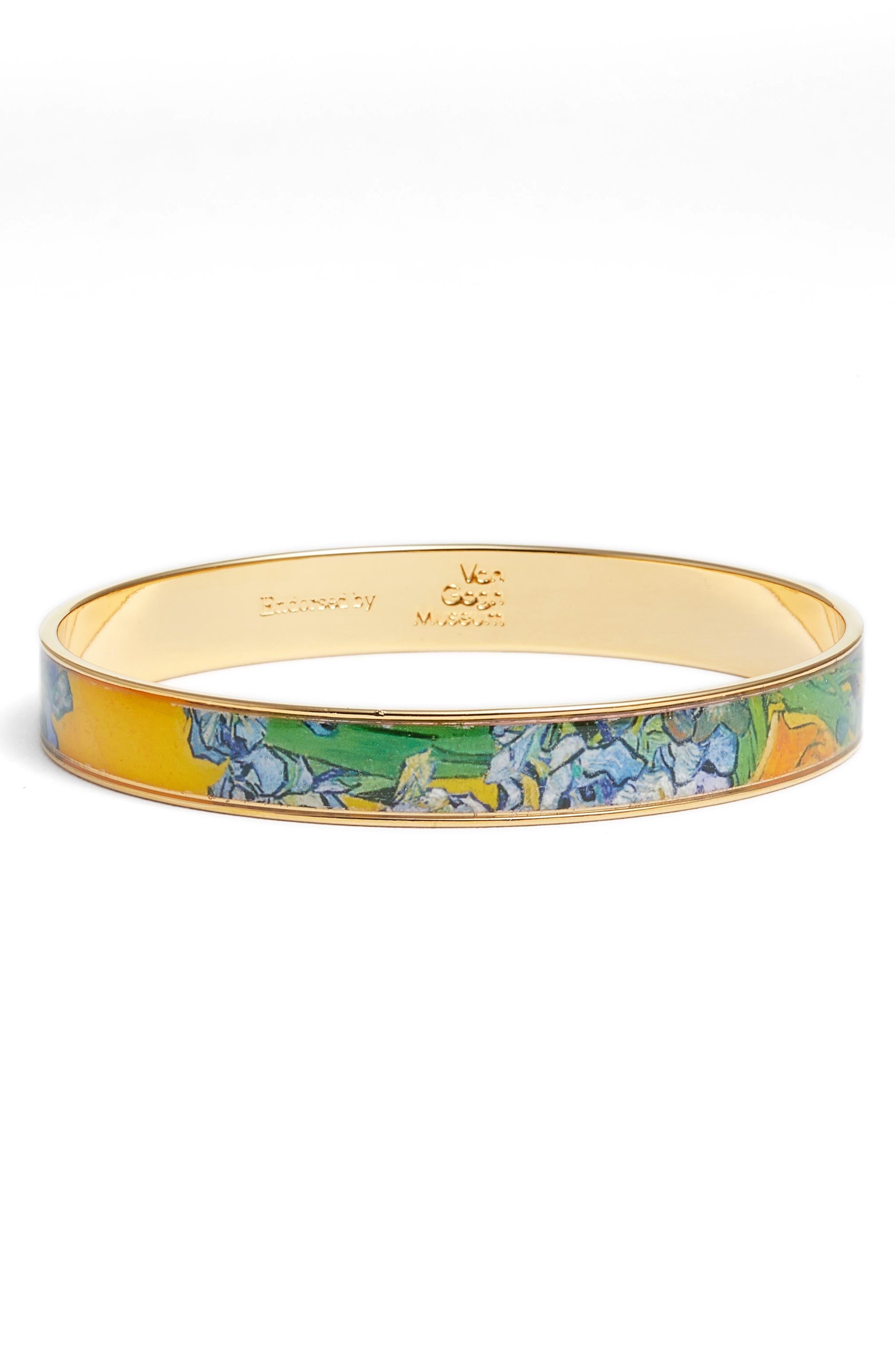 Irises Medium Bangle Bracelet,                         Main,                         color, YELLOW/ GOLD