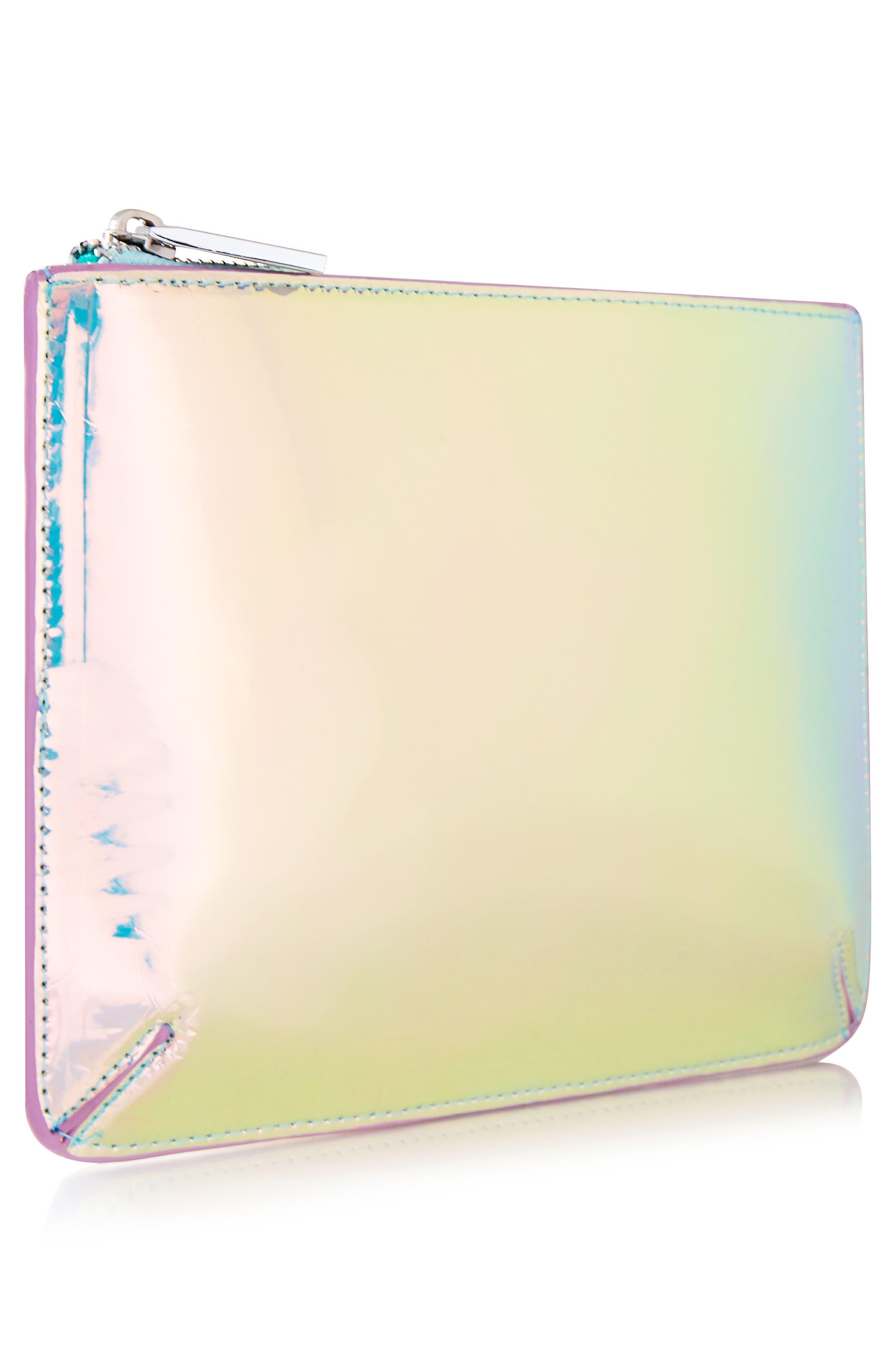 Skinny Dip Ocean Makeup Bag,                             Alternate thumbnail 2, color,                             000