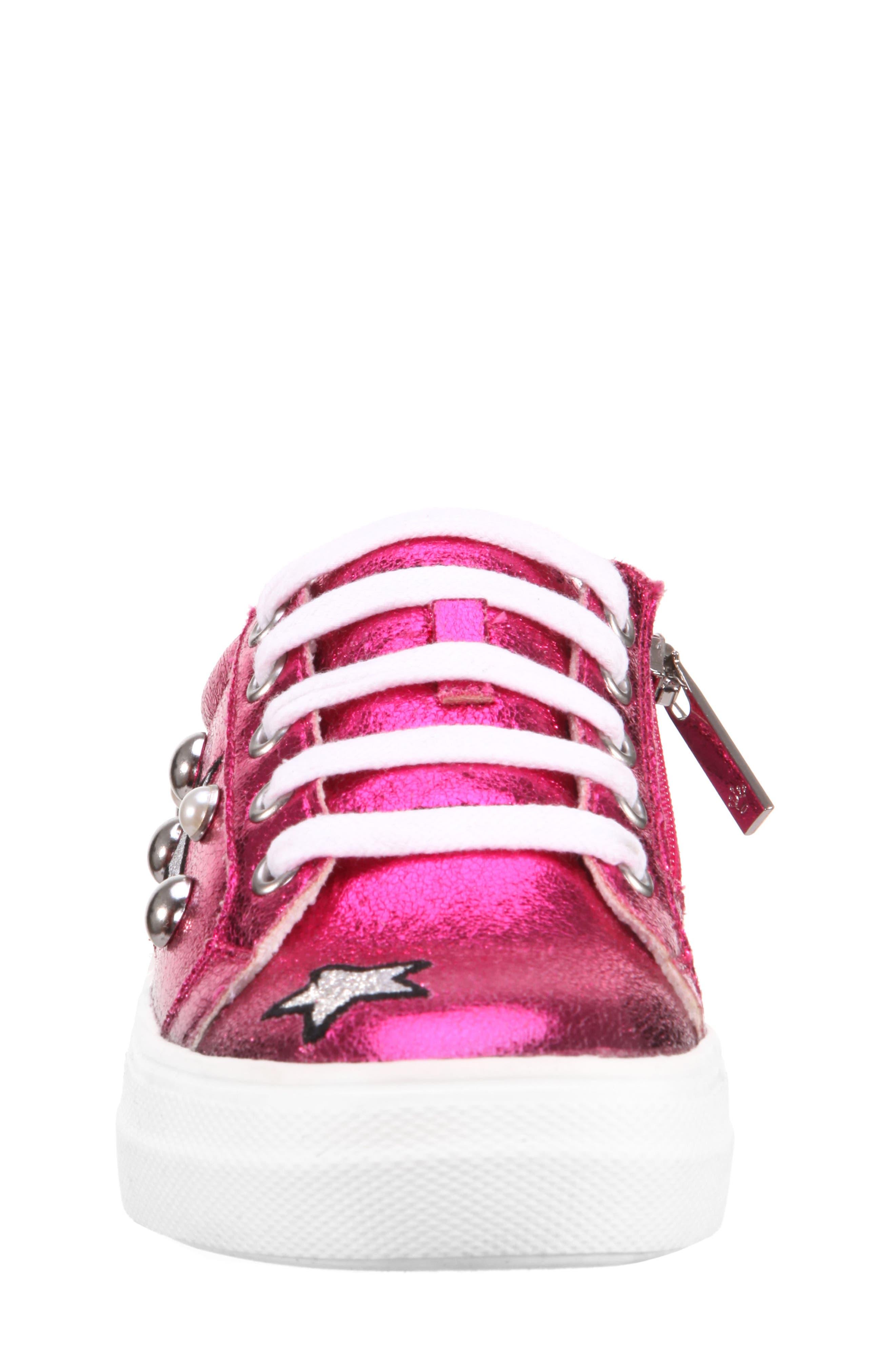 Kryslyn Metallic Sneaker,                             Alternate thumbnail 4, color,                             694