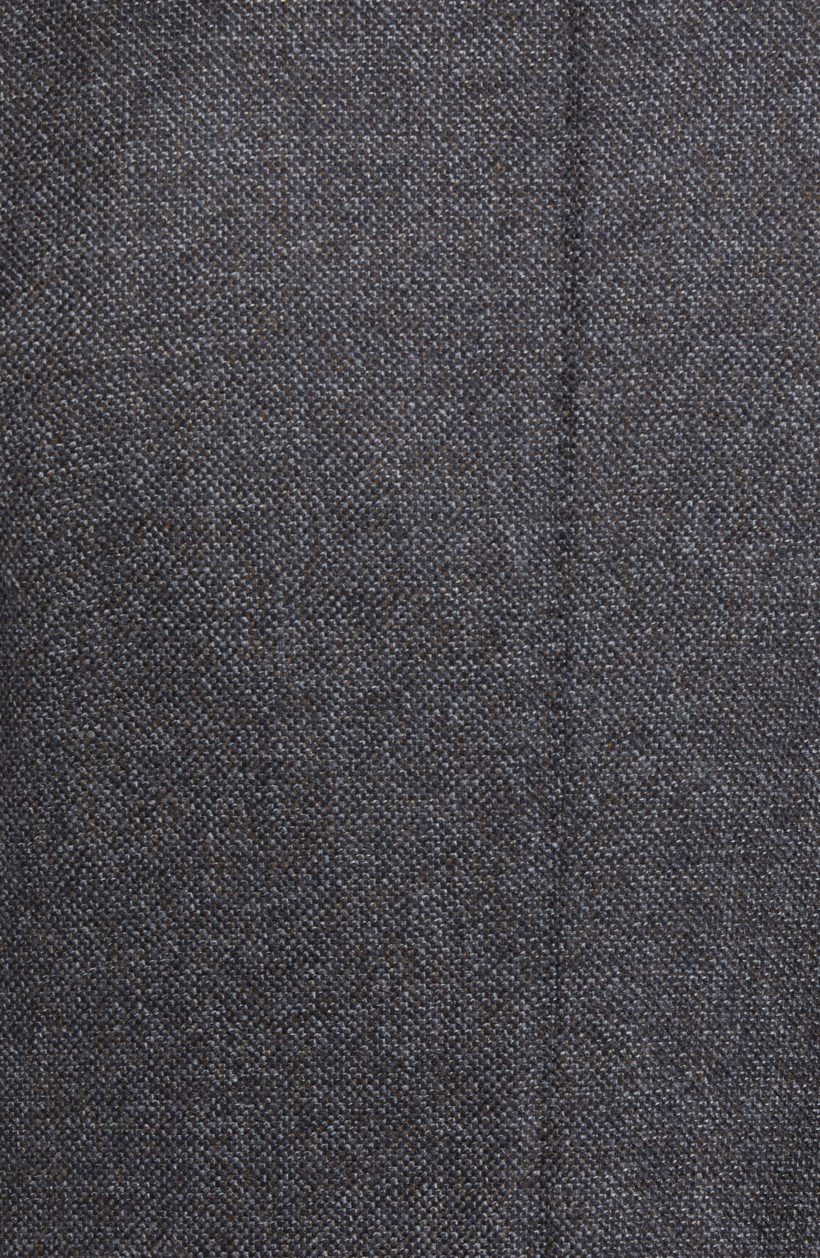 Classic Fit Stretch Tweed Wool Blend Sport Coat,                             Alternate thumbnail 6, color,                             GREY