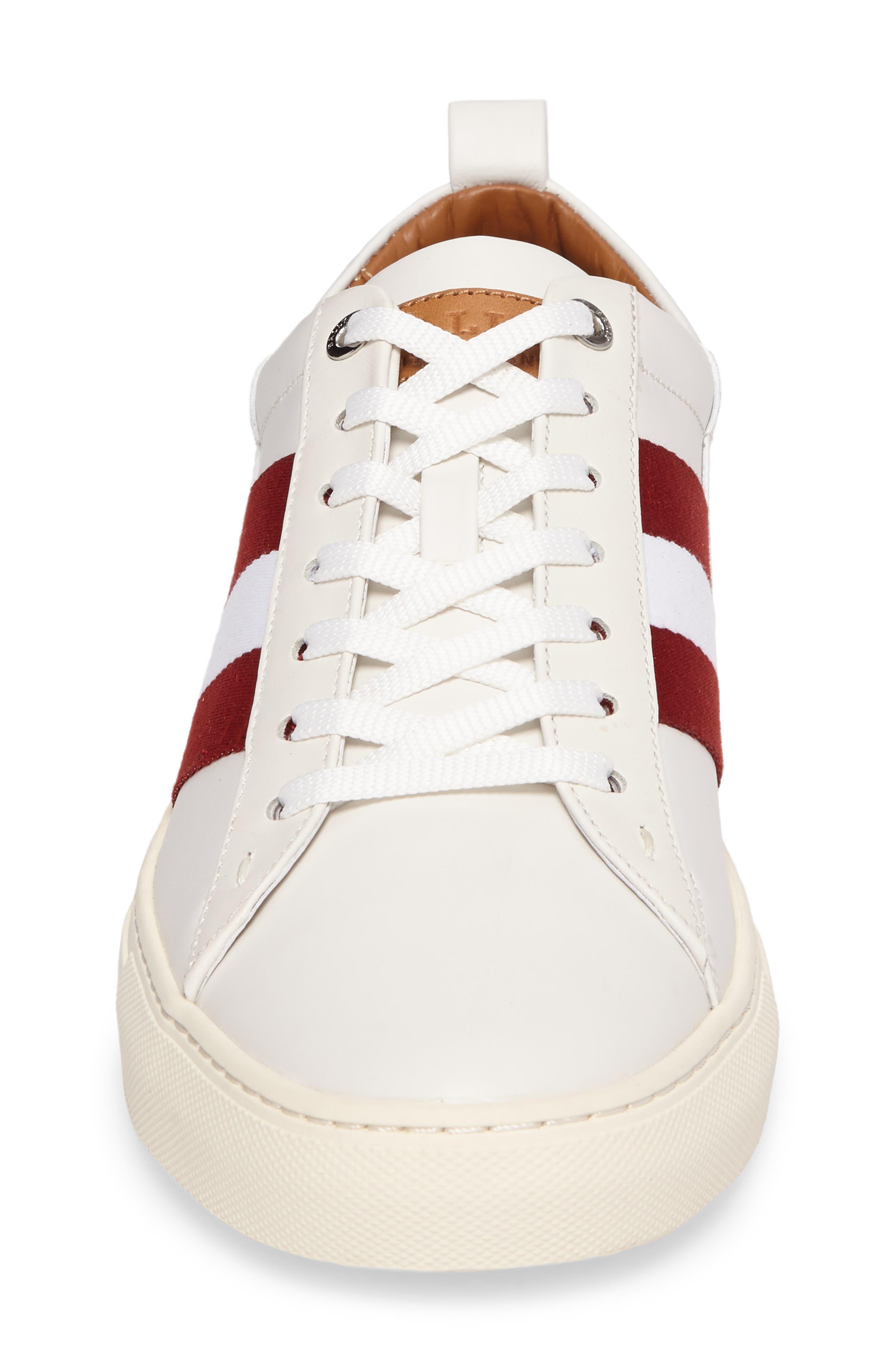 'Helvio' Sneaker,                             Alternate thumbnail 4, color,                             WHITE