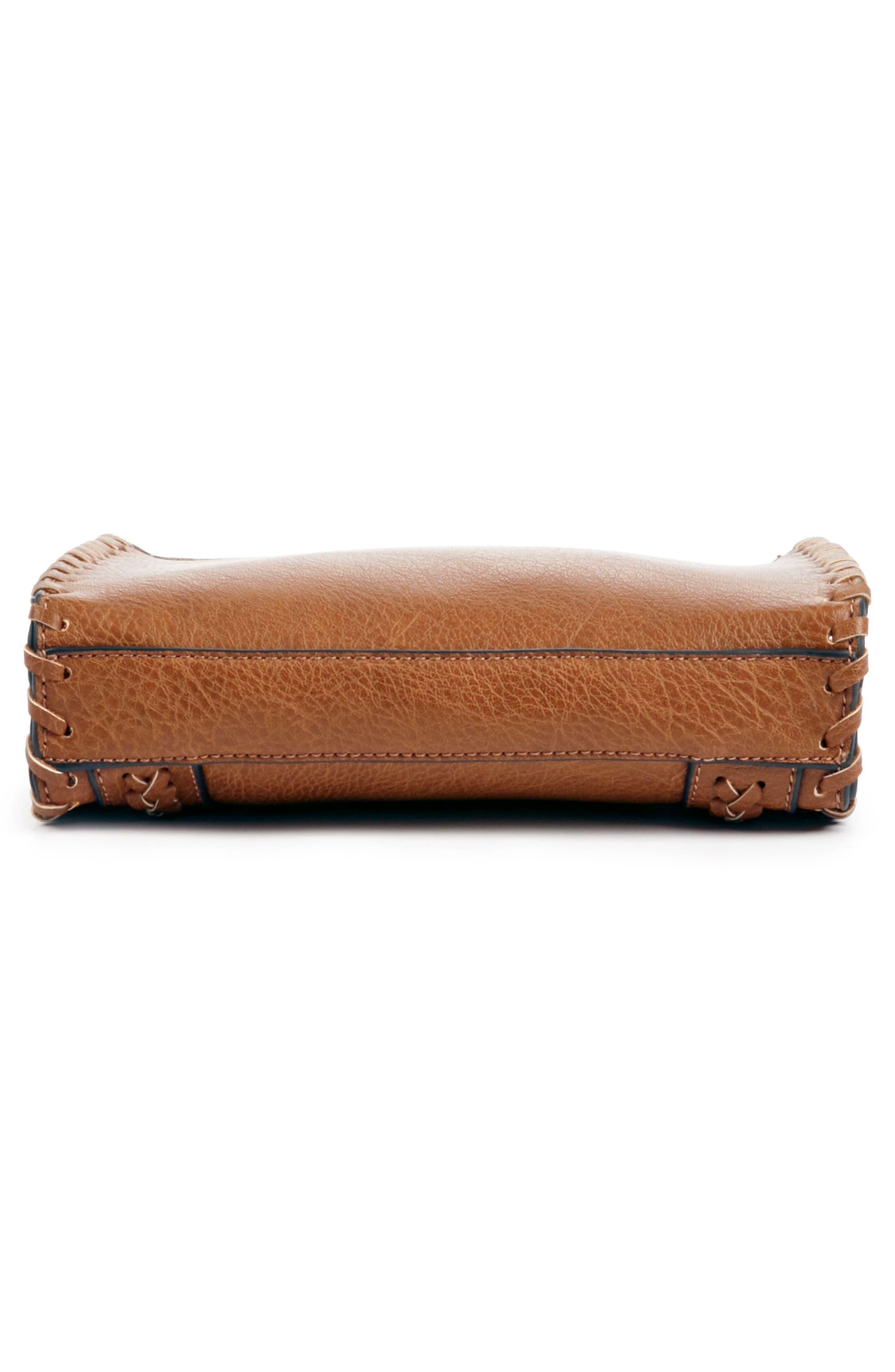 SOLE SOCIETY,                             Destin Faux Leather Crossbody Bag,                             Alternate thumbnail 5, color,                             230