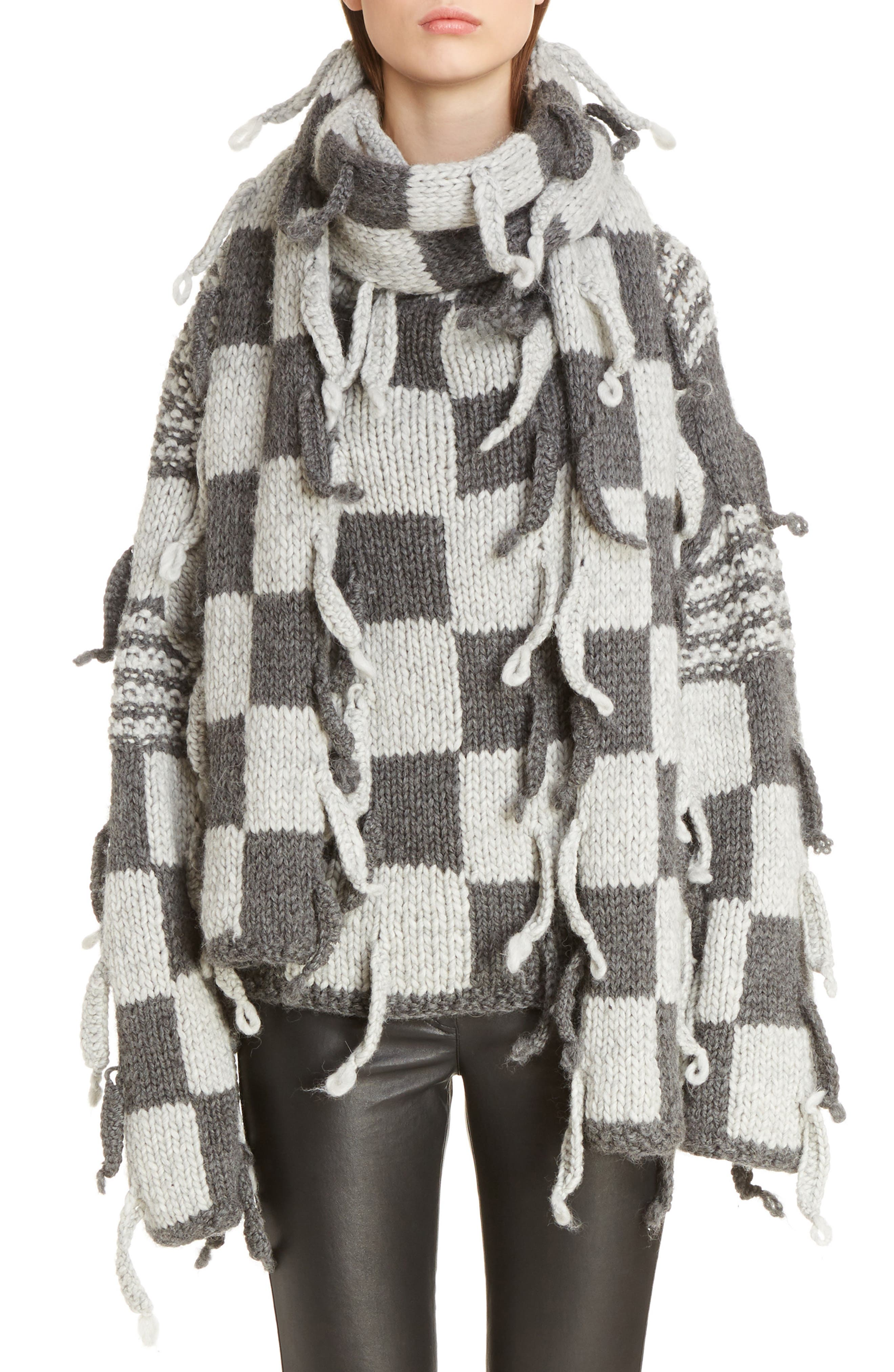 Chunky Knit Wool & Alpaca Sweater,                             Main thumbnail 1, color,                             023