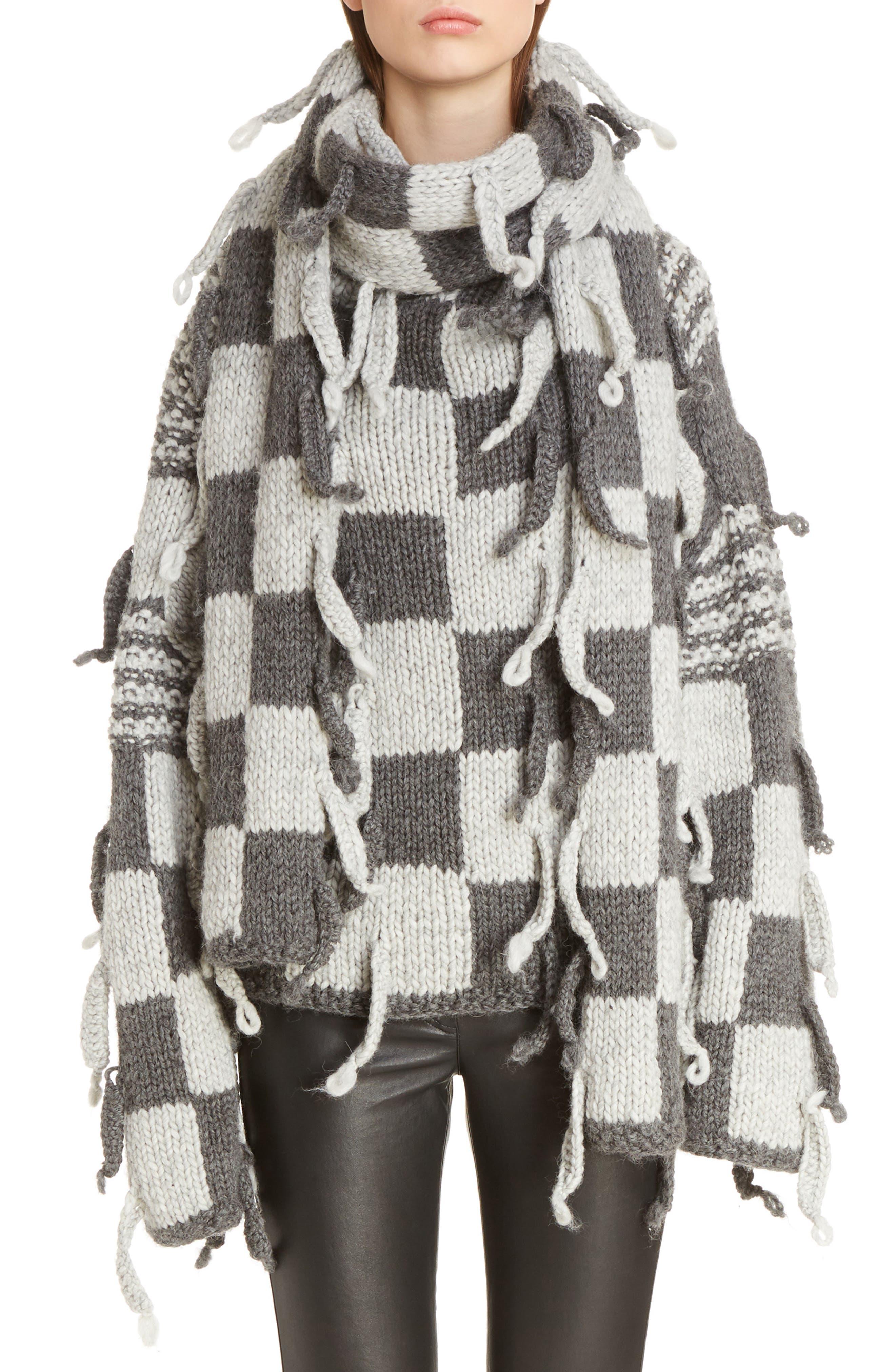 Chunky Knit Wool & Alpaca Sweater,                         Main,                         color, 023