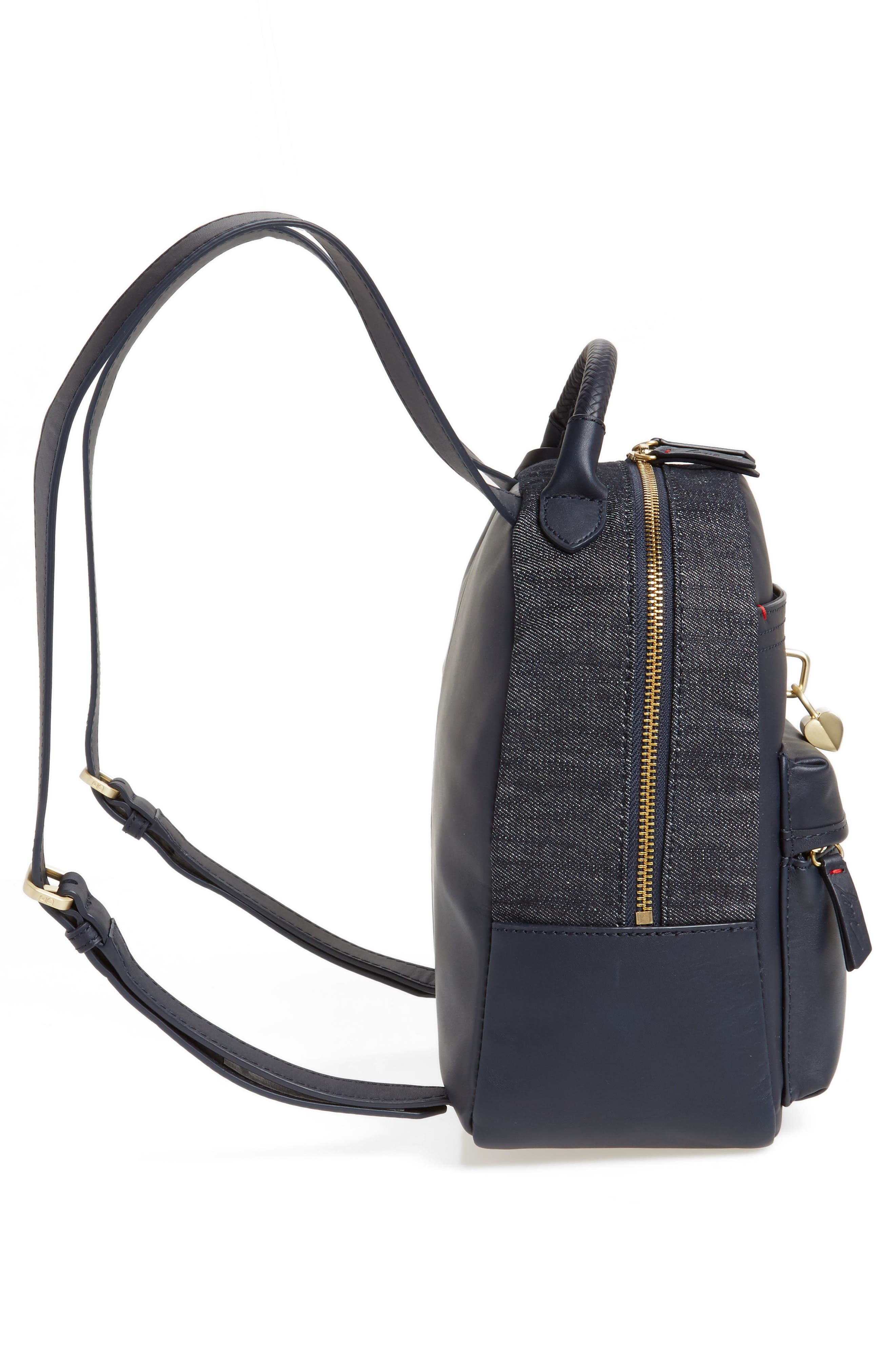 Brody Leather Backpack,                             Alternate thumbnail 10, color,