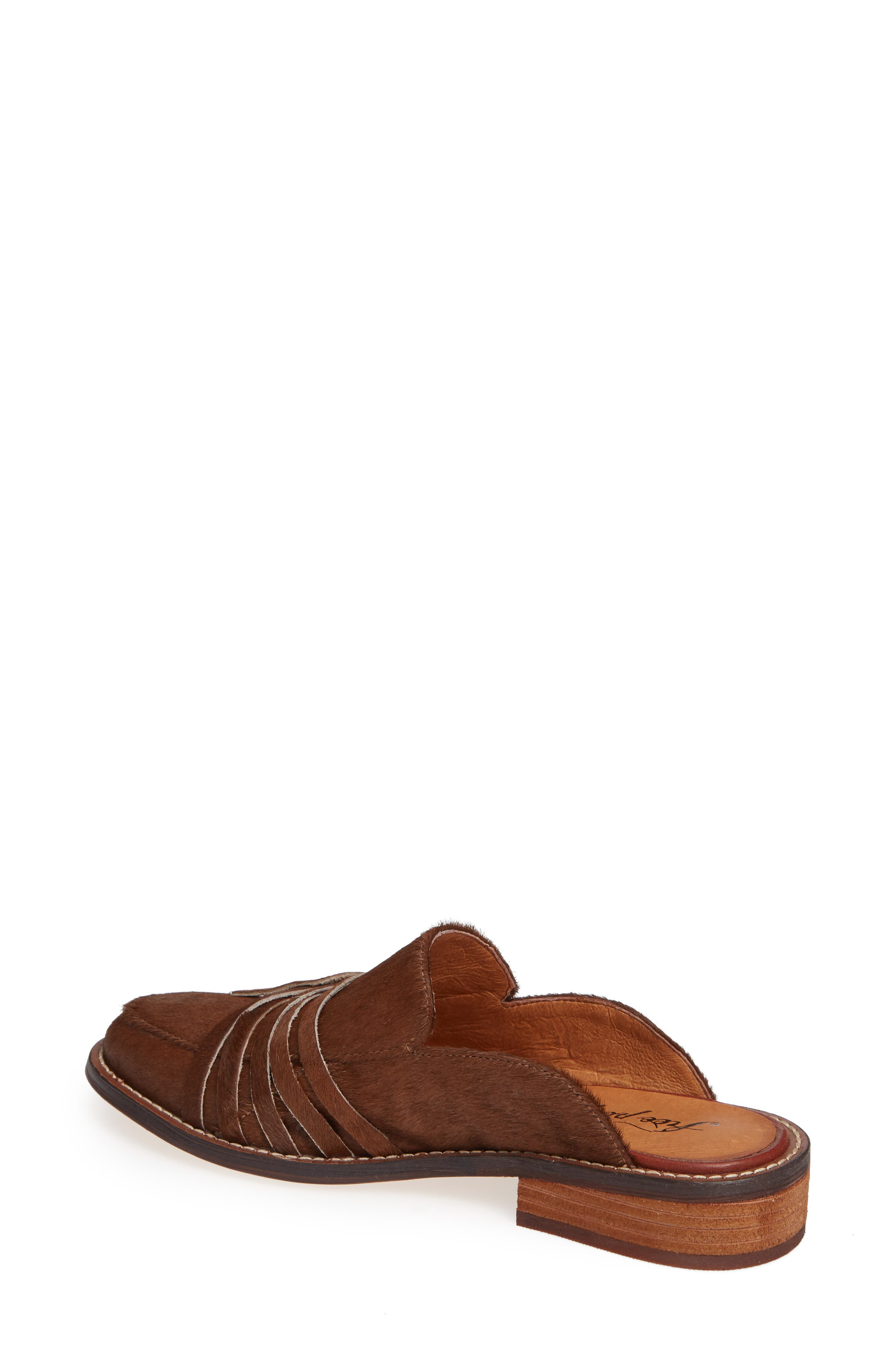 Saratoga Loafer Mule,                             Alternate thumbnail 2, color,                             COPPER CALF HAIR