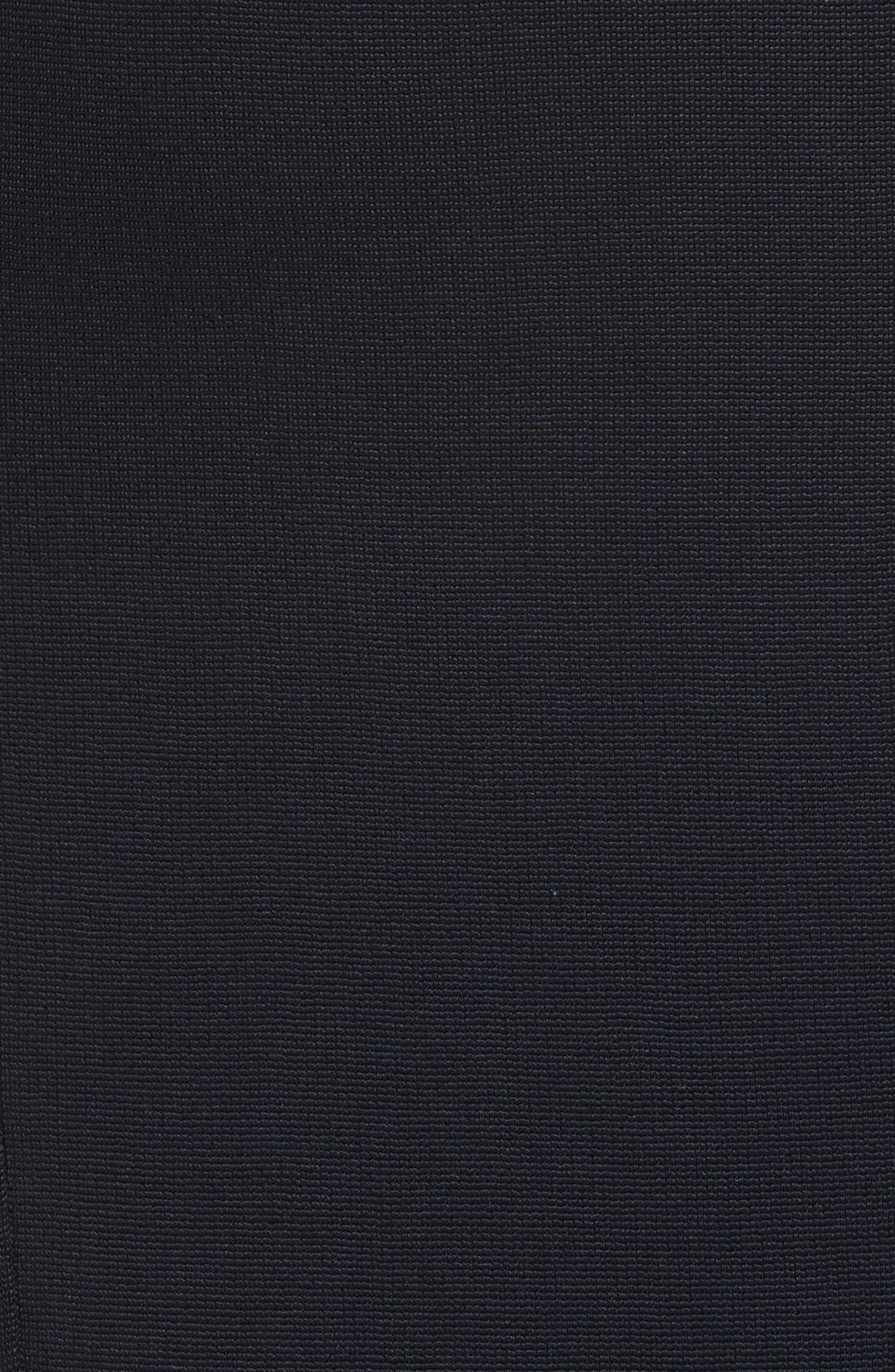 Diane von Furstenberg Fitted Midi Skirt,                             Alternate thumbnail 5, color,