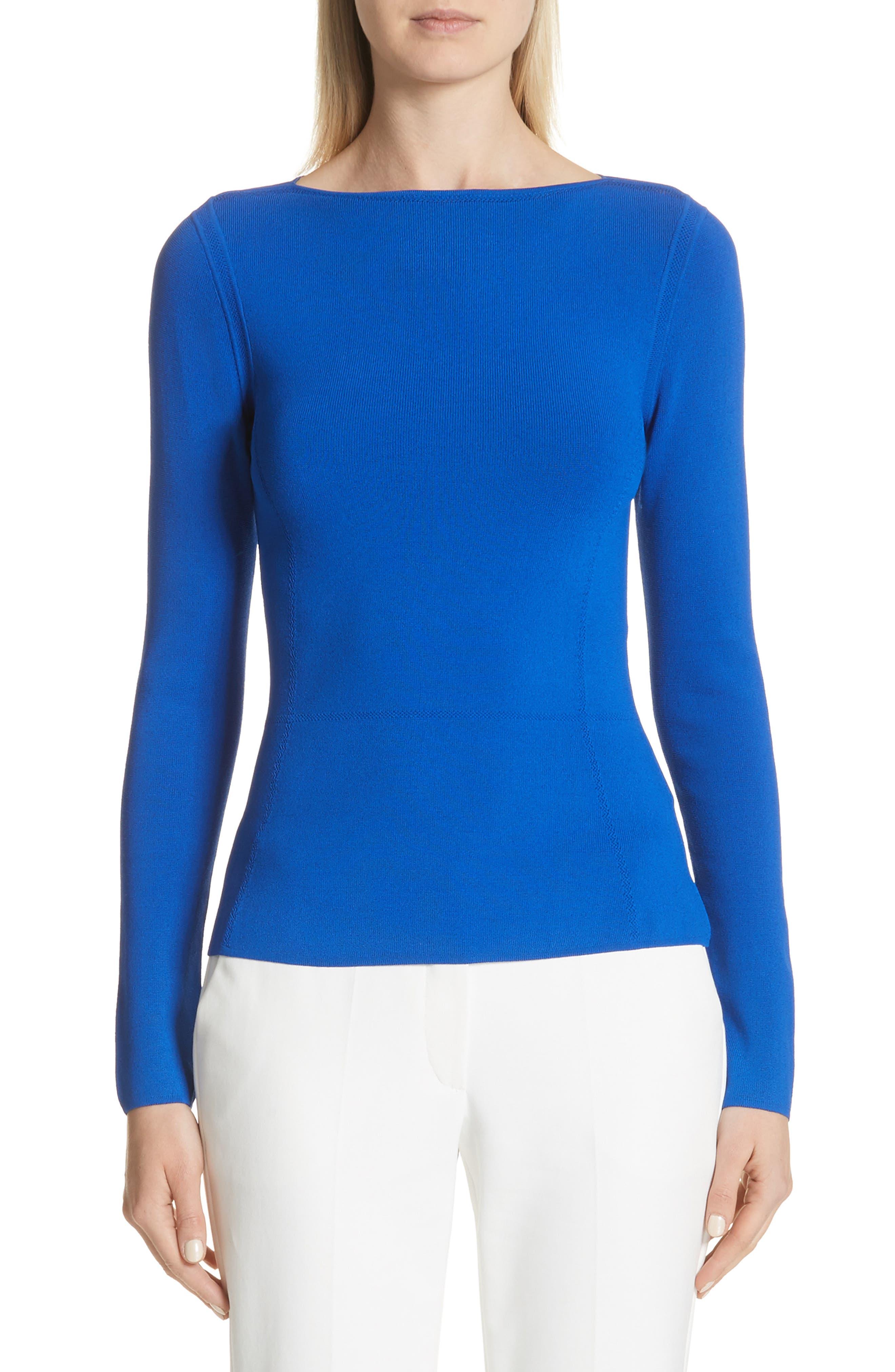 Contour Seam Knit Top,                         Main,                         color, 454
