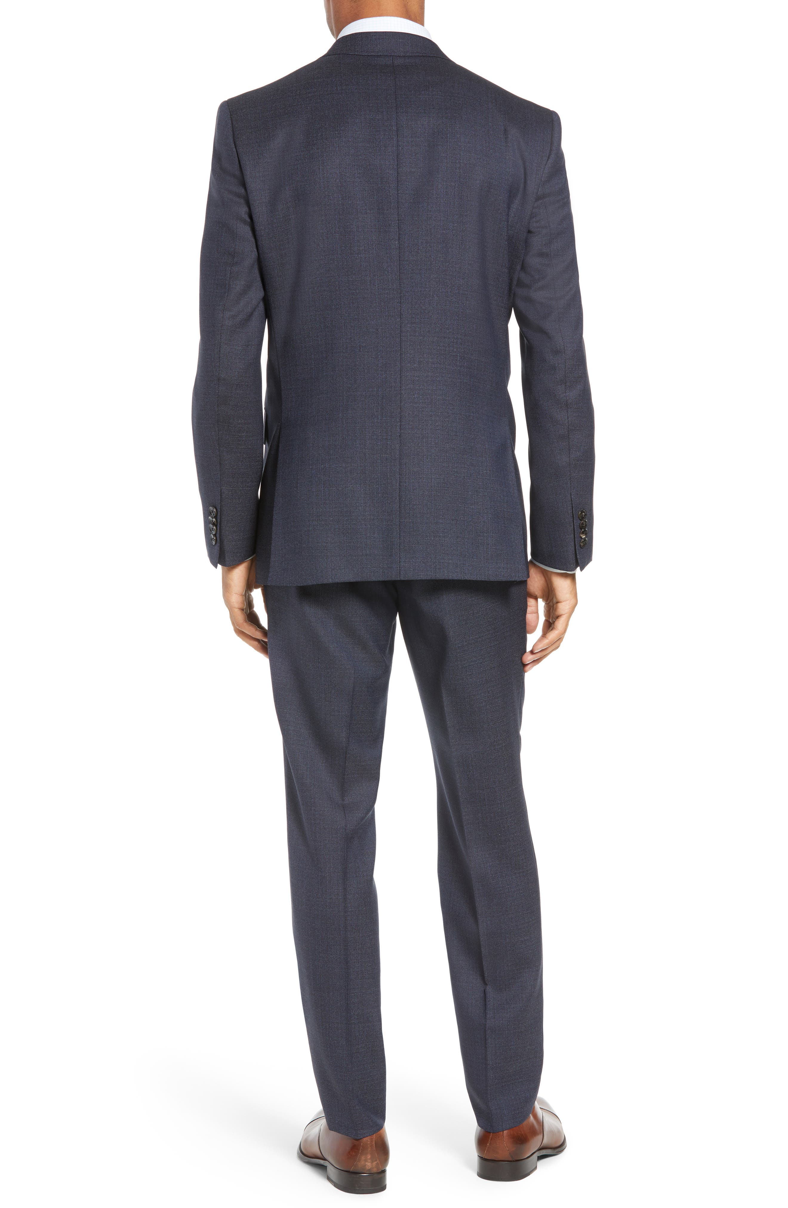 Jay Trim Fit Solid Wool Suit,                             Alternate thumbnail 2, color,                             020