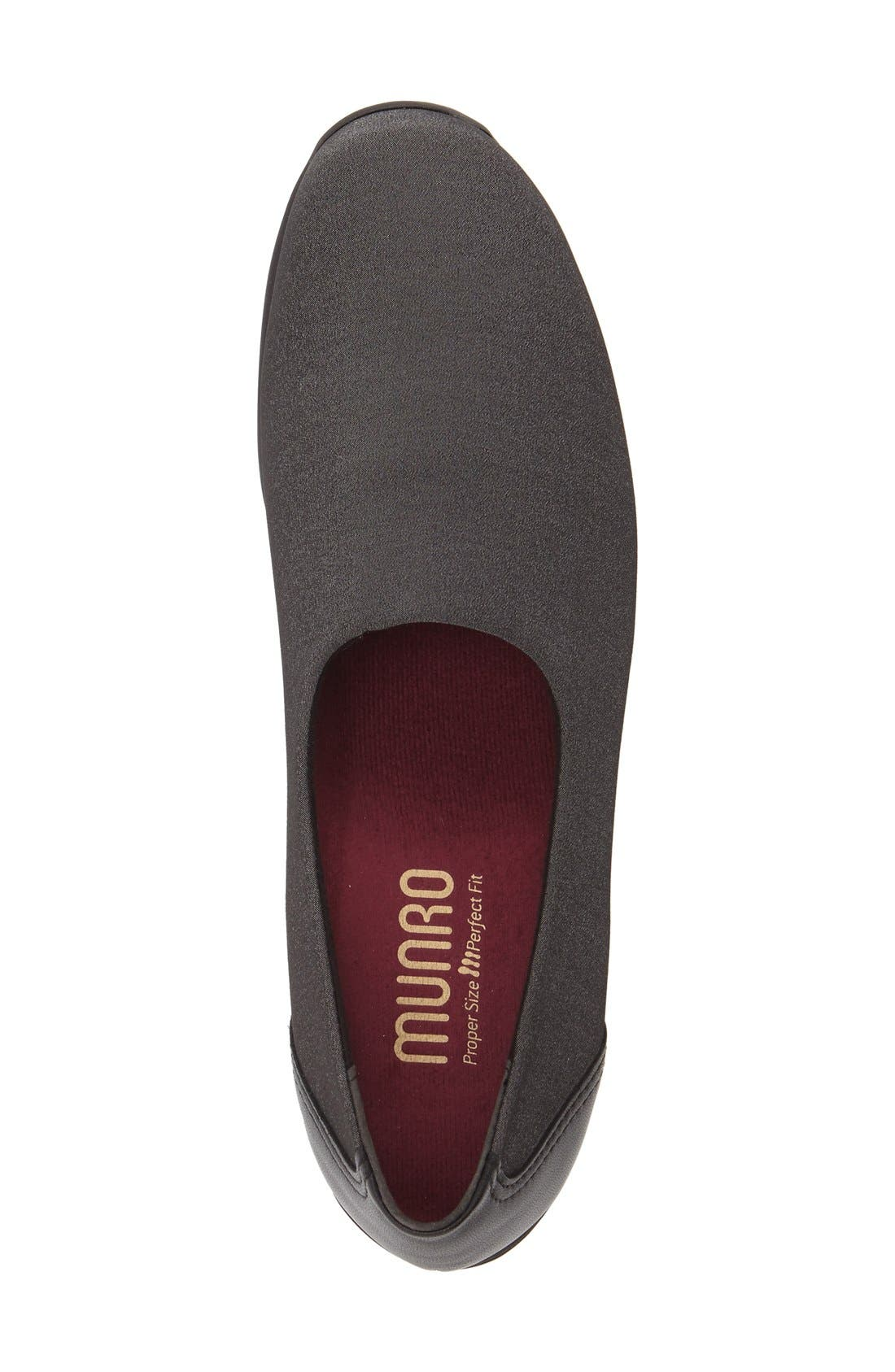 'Traveler' Slip-On,                             Alternate thumbnail 3, color,                             GREY FABRIC