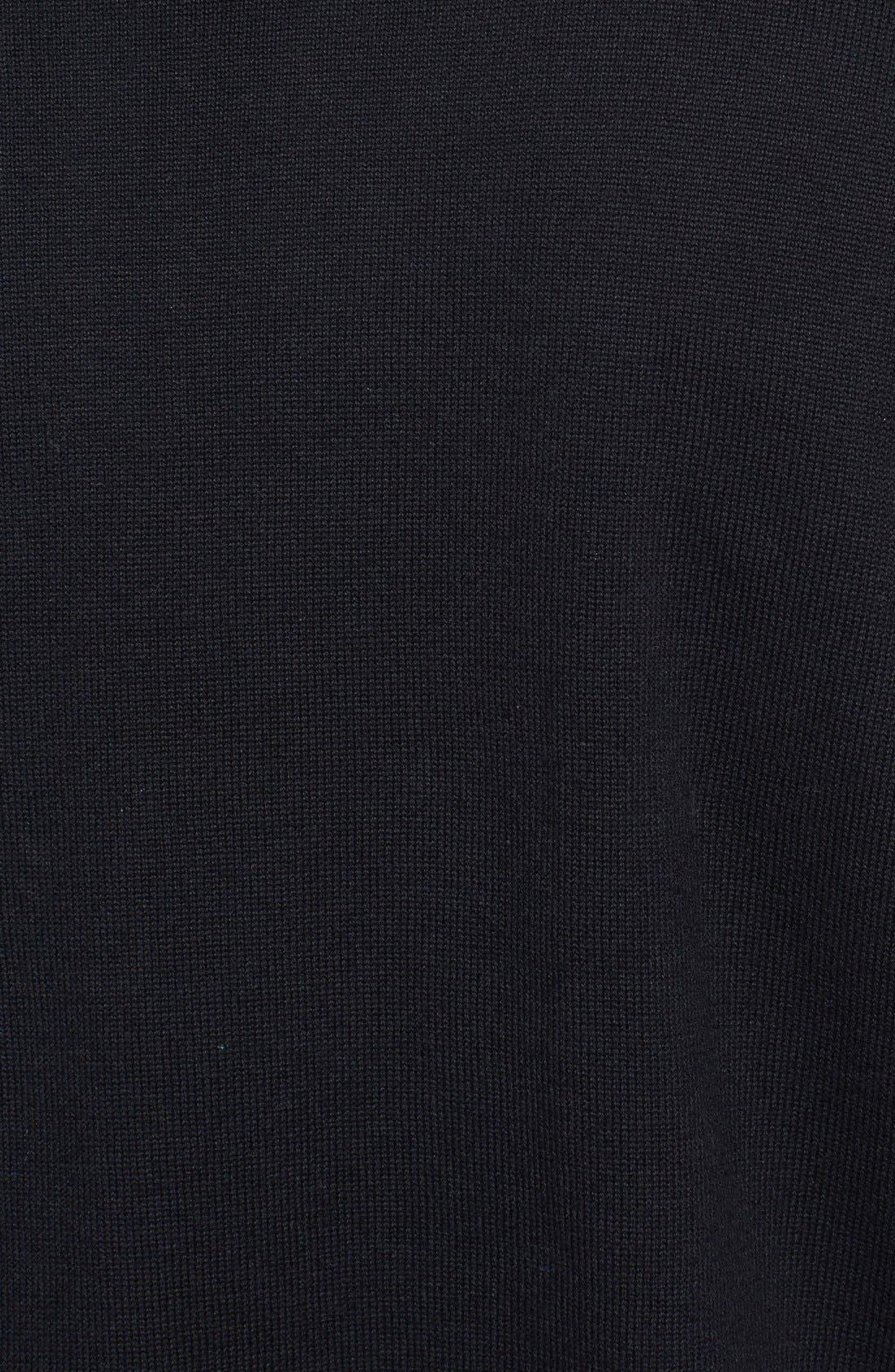 Broadview V-Neck Sweater,                             Alternate thumbnail 3, color,                             001