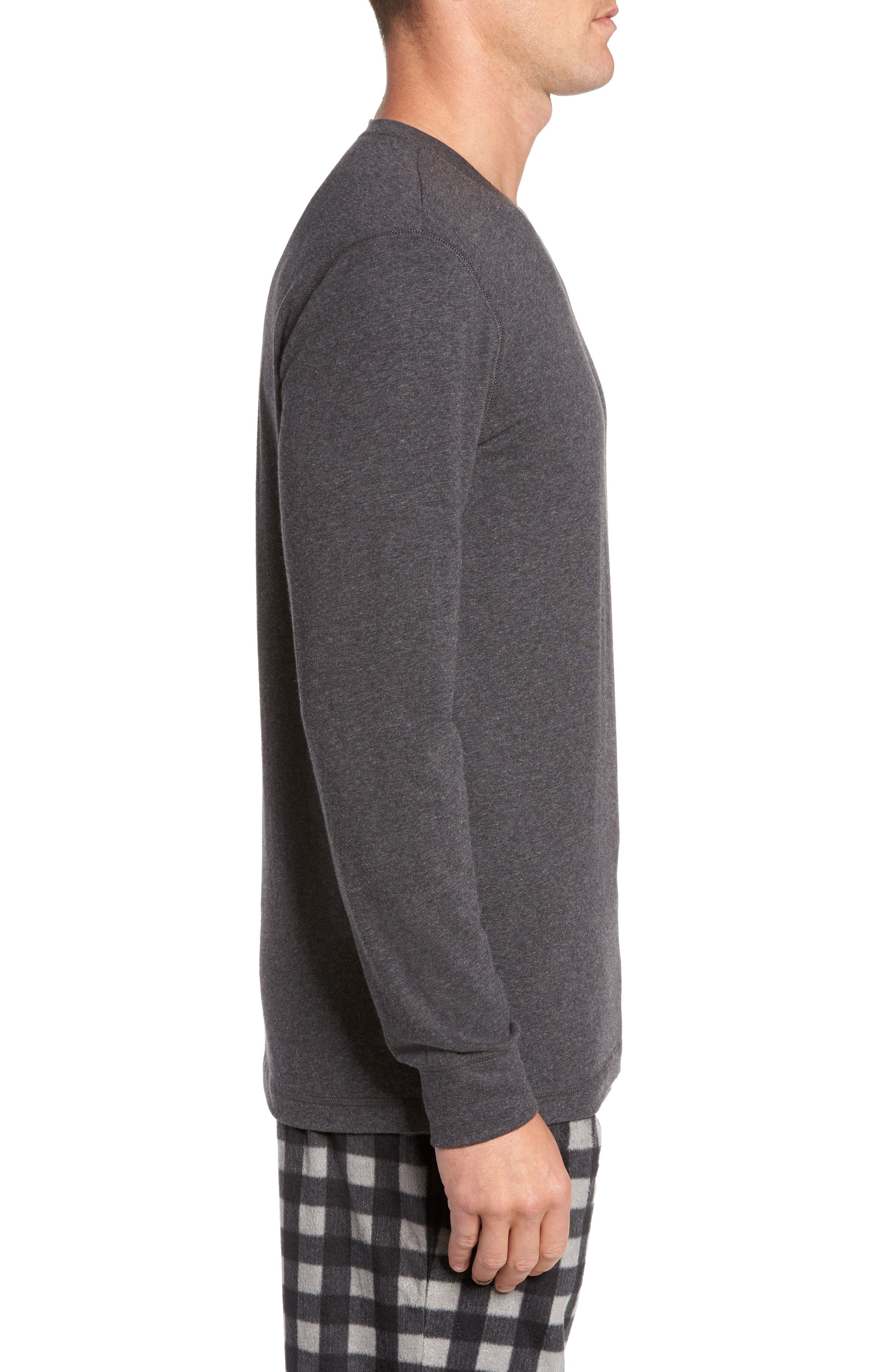 Stretch Cotton Long Sleeve T-Shirt,                             Alternate thumbnail 10, color,