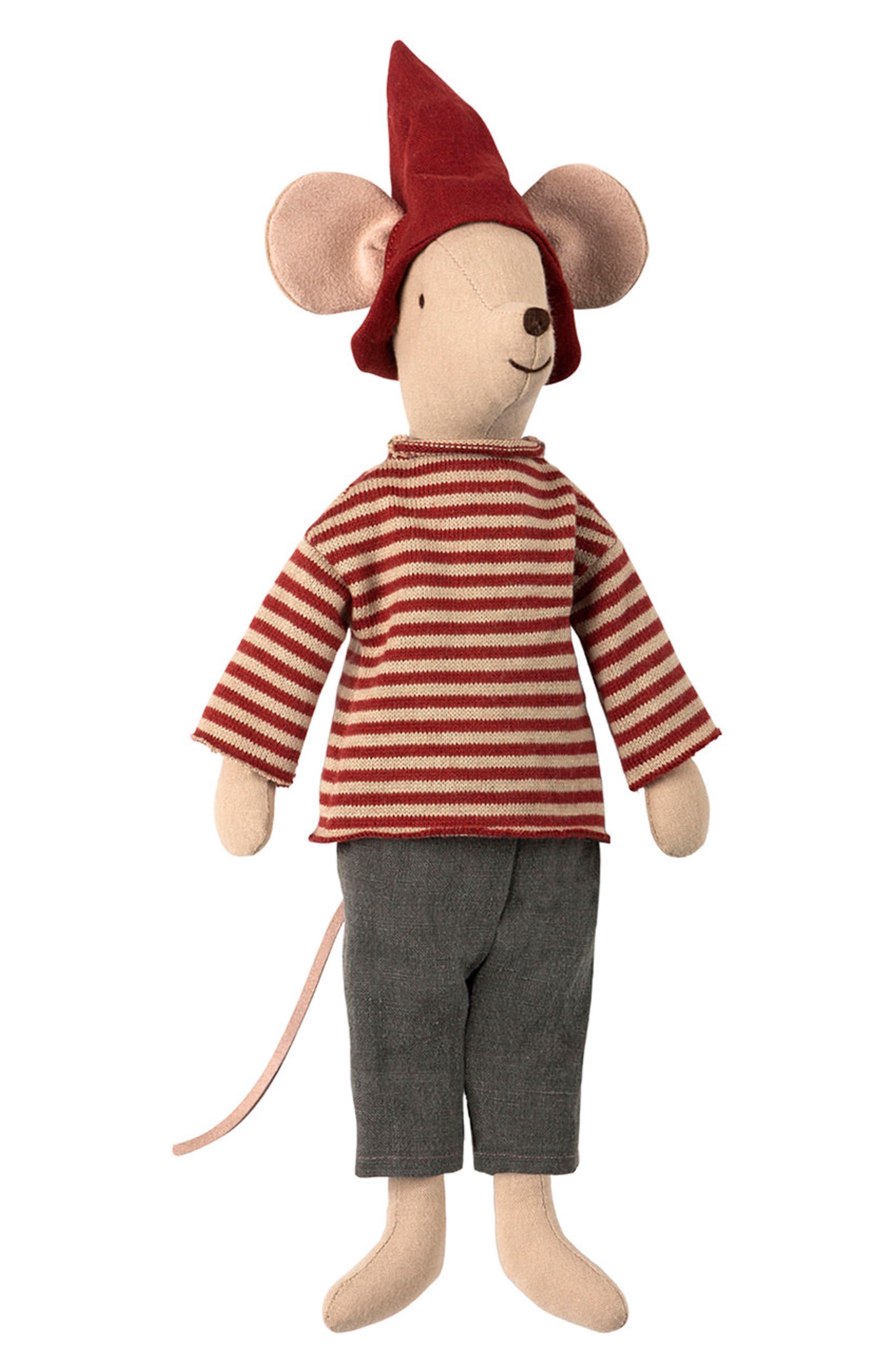 Maileg Christmas Medium Boy Mouse Stuffed Animal Nordstrom