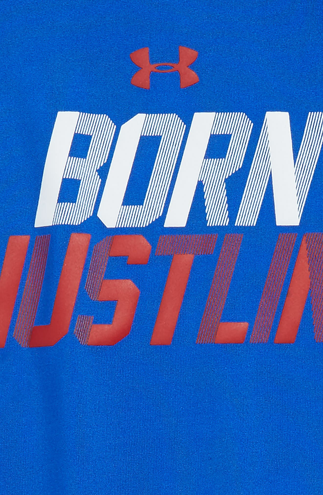 Born Hustlin T-Shirt & Shorts,                             Alternate thumbnail 2, color,                             420