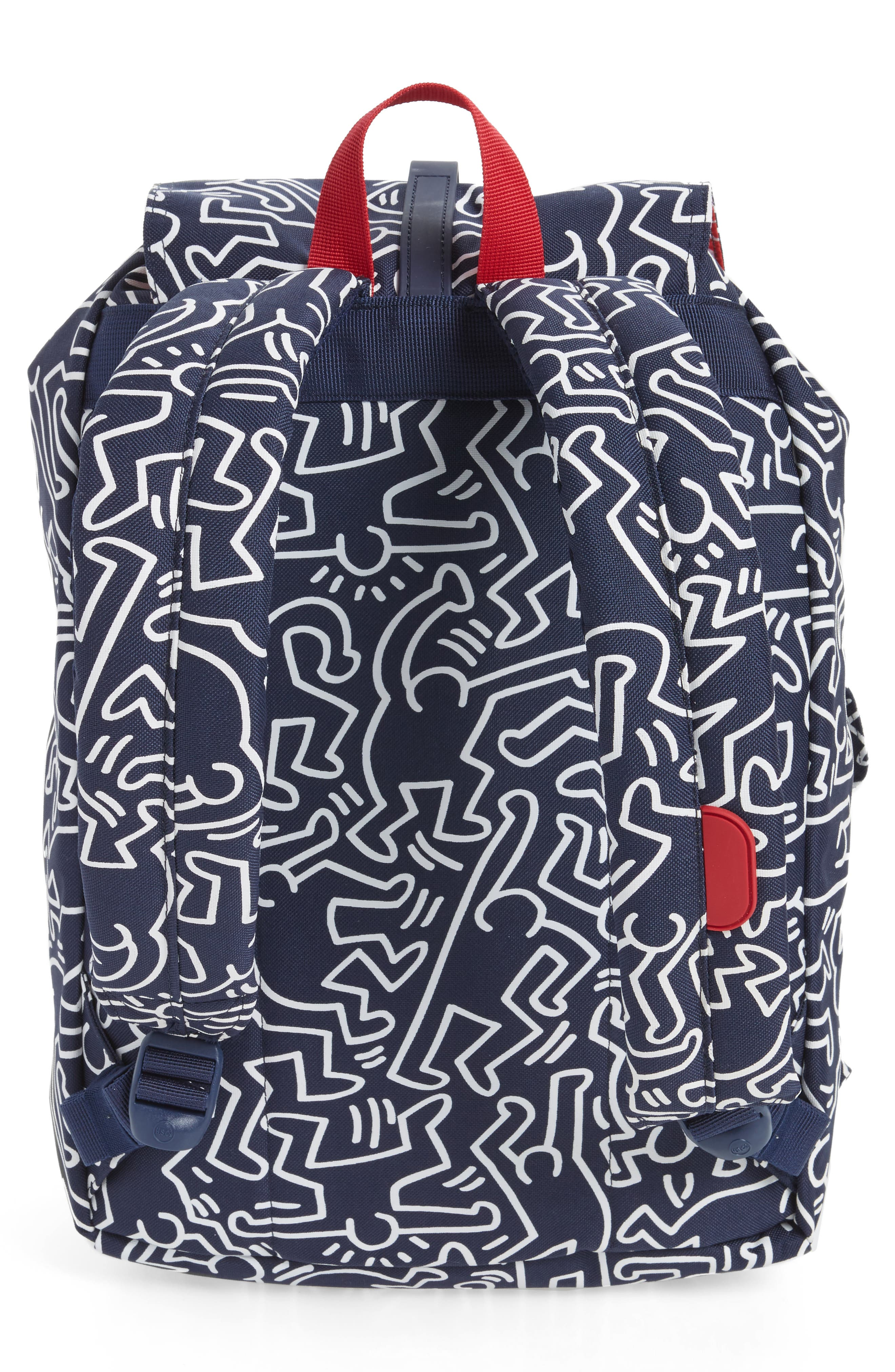 Dawson Keith Haring Backpack,                             Alternate thumbnail 3, color,                             477