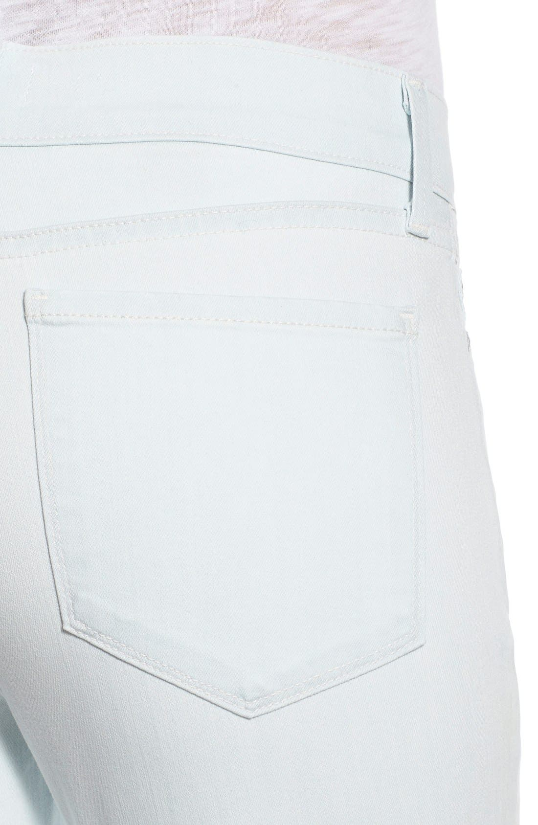 'Dayla' Colored Wide Cuff Capri Jeans,                             Alternate thumbnail 55, color,