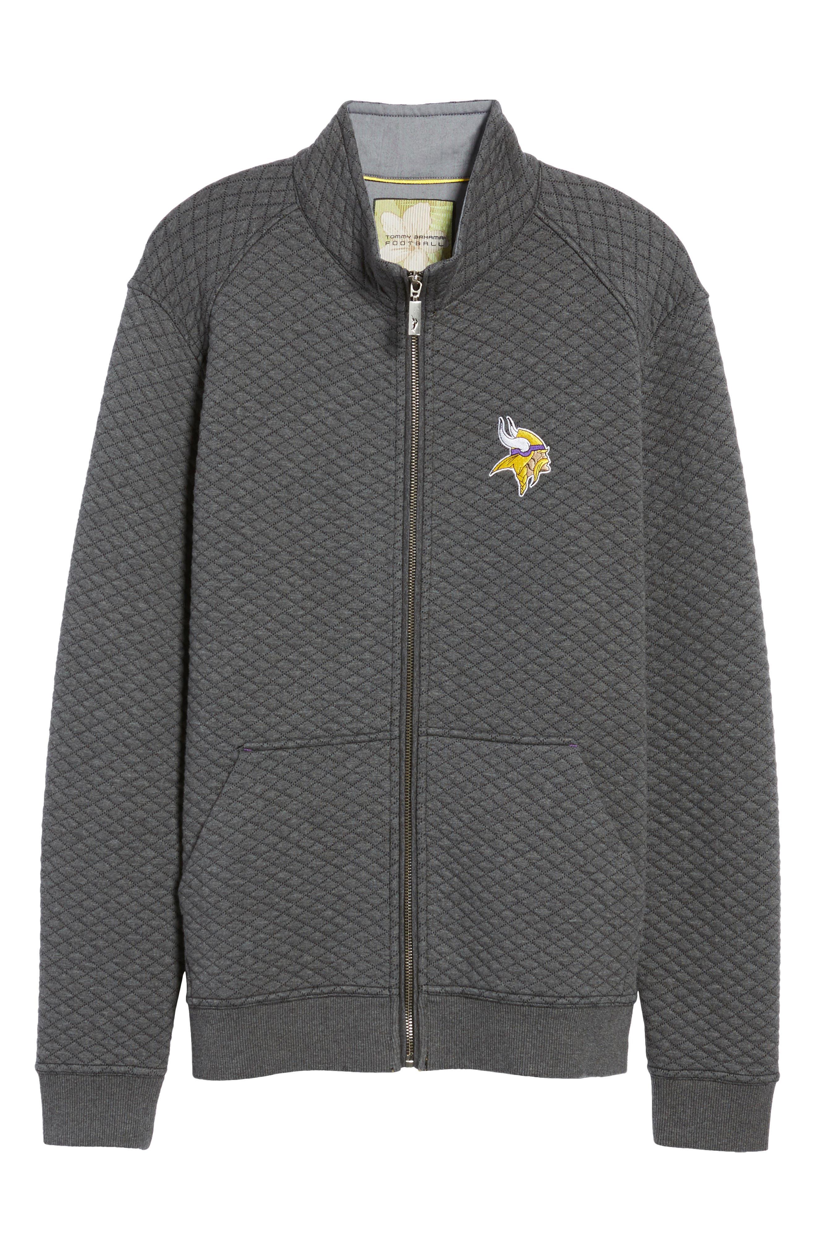 NFL Quiltessential Full Zip Sweatshirt,                             Alternate thumbnail 186, color,