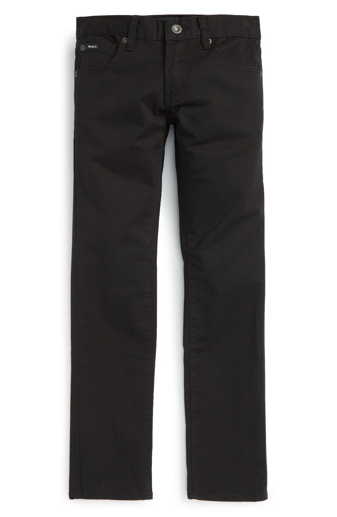 'Daggers' Slim Fit Twill Pants,                             Main thumbnail 3, color,