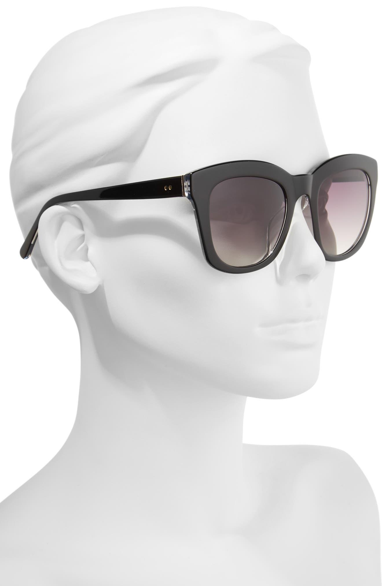 Kiri 52mm Sunglasses,                             Alternate thumbnail 2, color,                             040