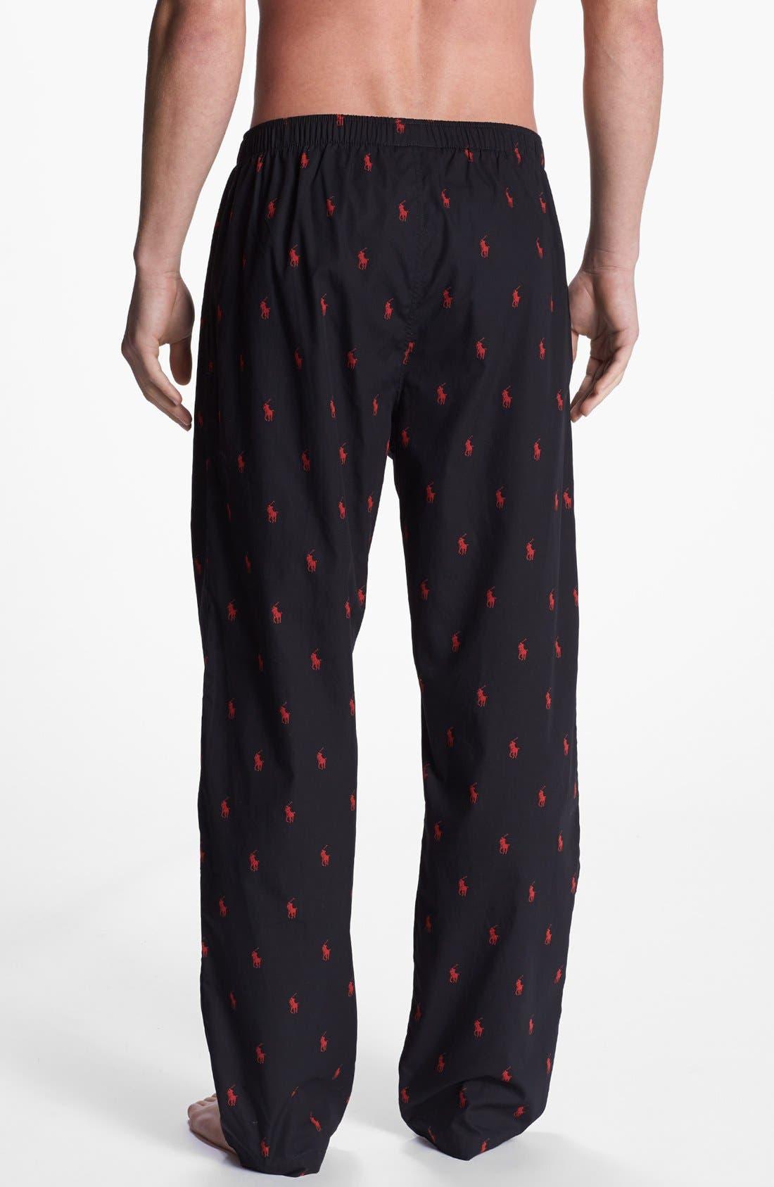Cotton Lounge Pants,                             Alternate thumbnail 30, color,