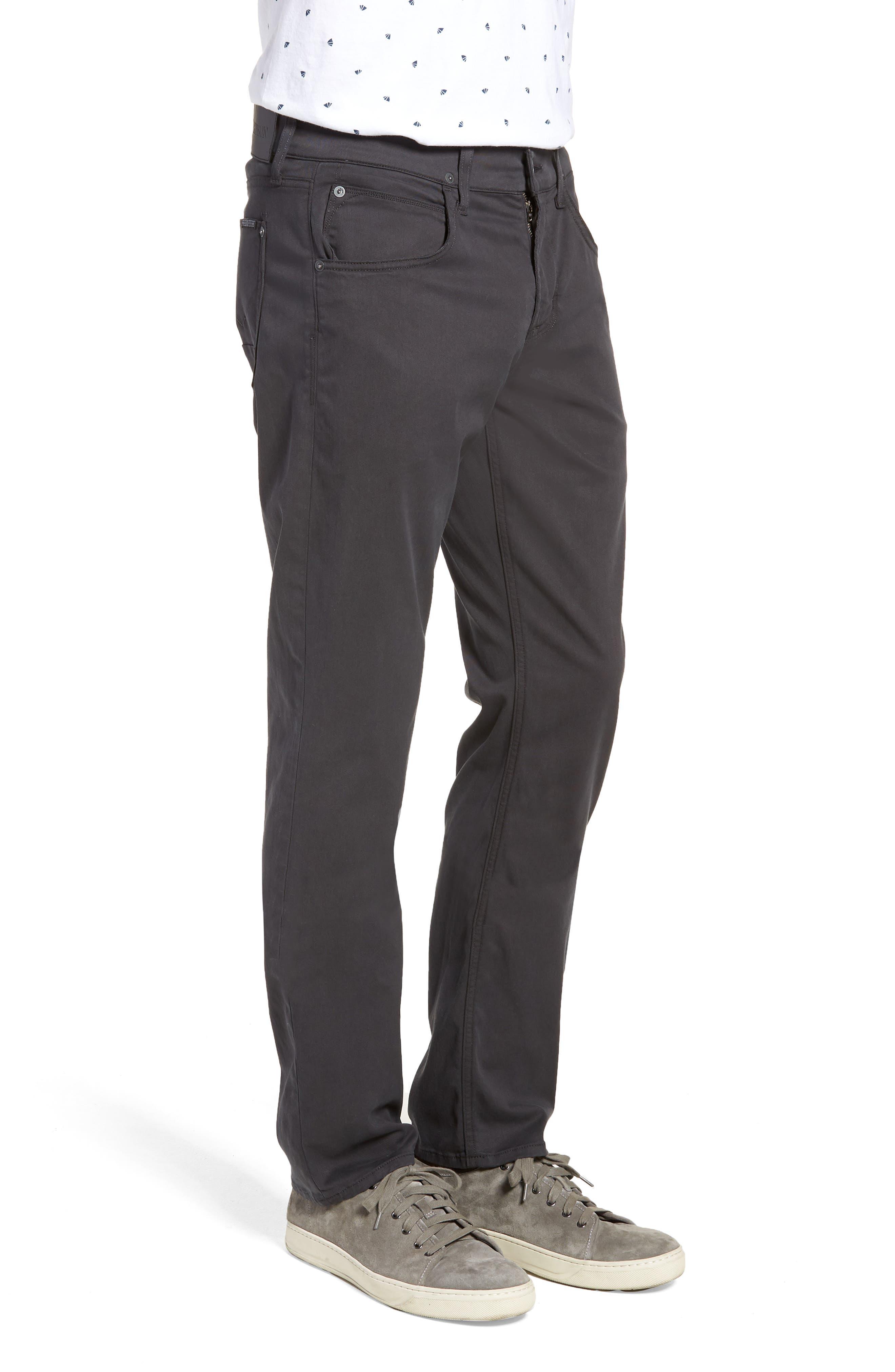 Byron Slim Straight Leg Pants,                             Alternate thumbnail 3, color,                             METAL