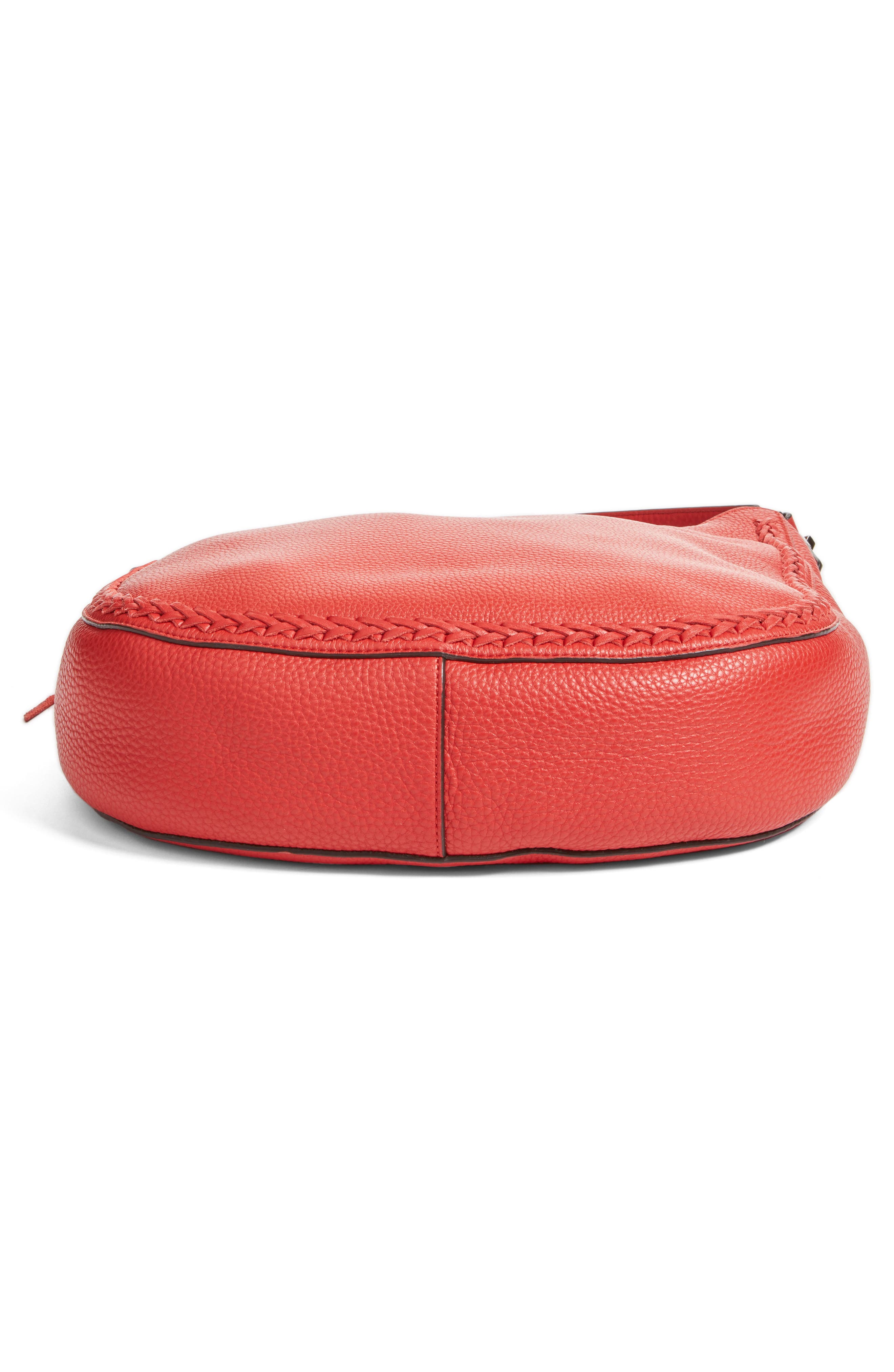 Unlined Convertible Whipstitch Hobo,                             Alternate thumbnail 34, color,