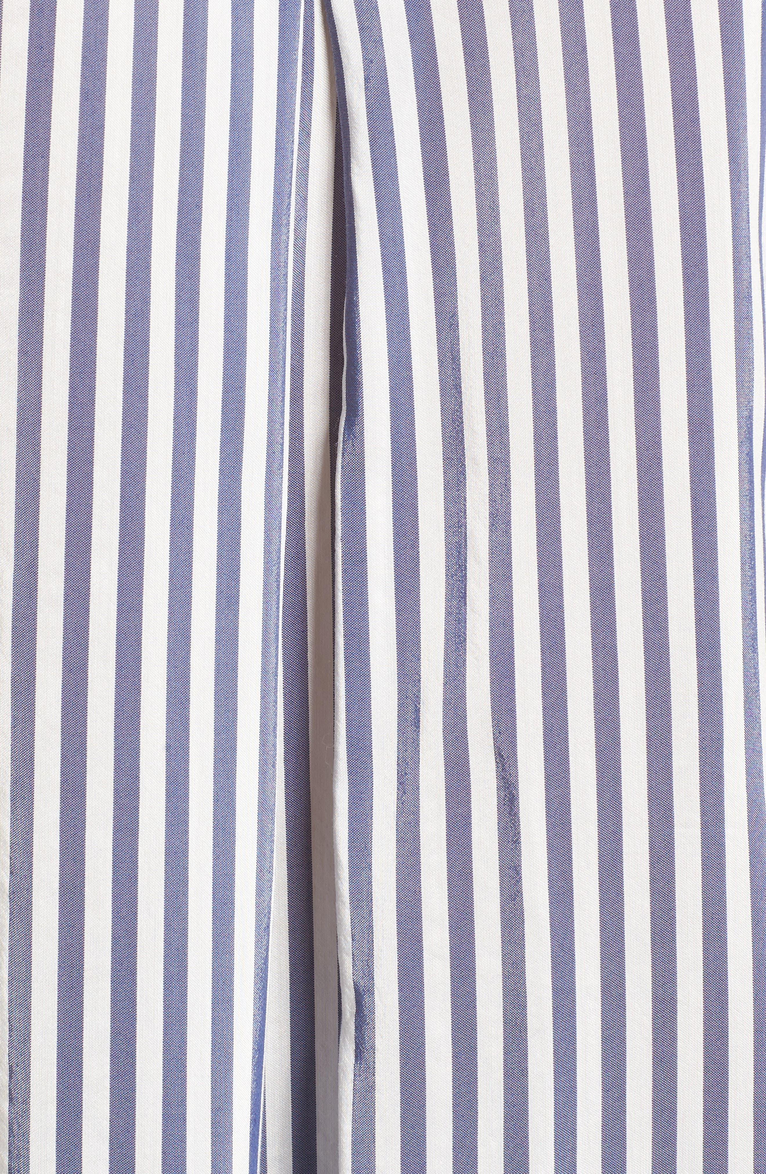Stripe Shirt,                             Alternate thumbnail 5, color,                             410