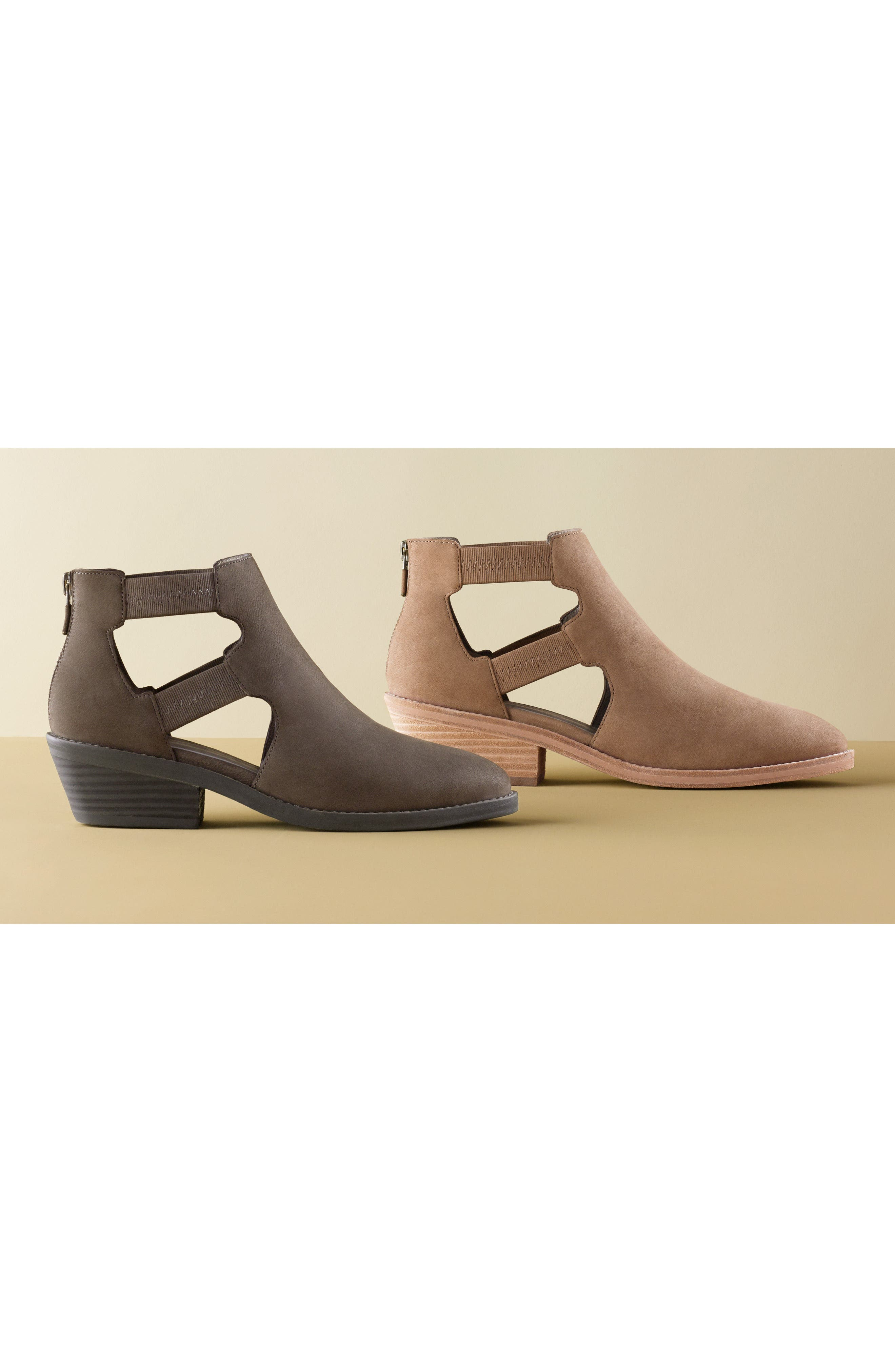 Vanda Cutout Bootie,                             Alternate thumbnail 7, color,                             001