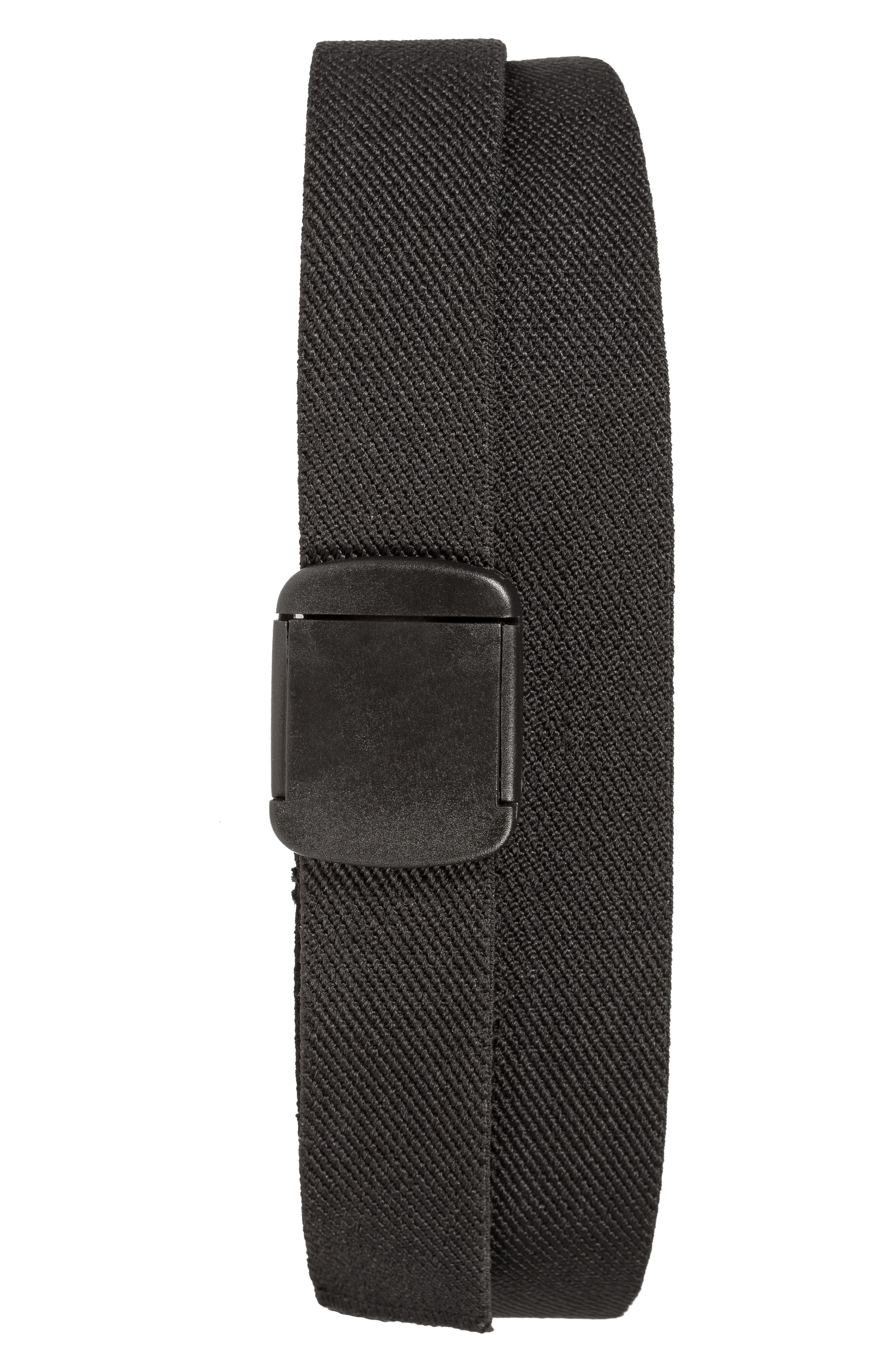 Travel Belt,                             Main thumbnail 1, color,                             BLACK