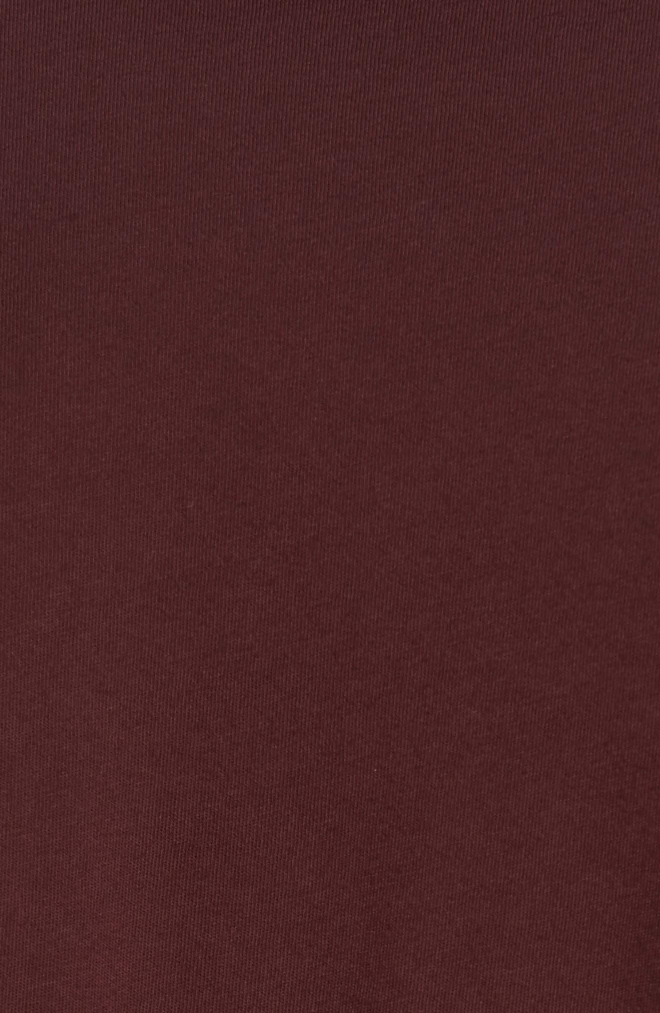 Crewneck Jersey T-Shirt,                             Alternate thumbnail 450, color,