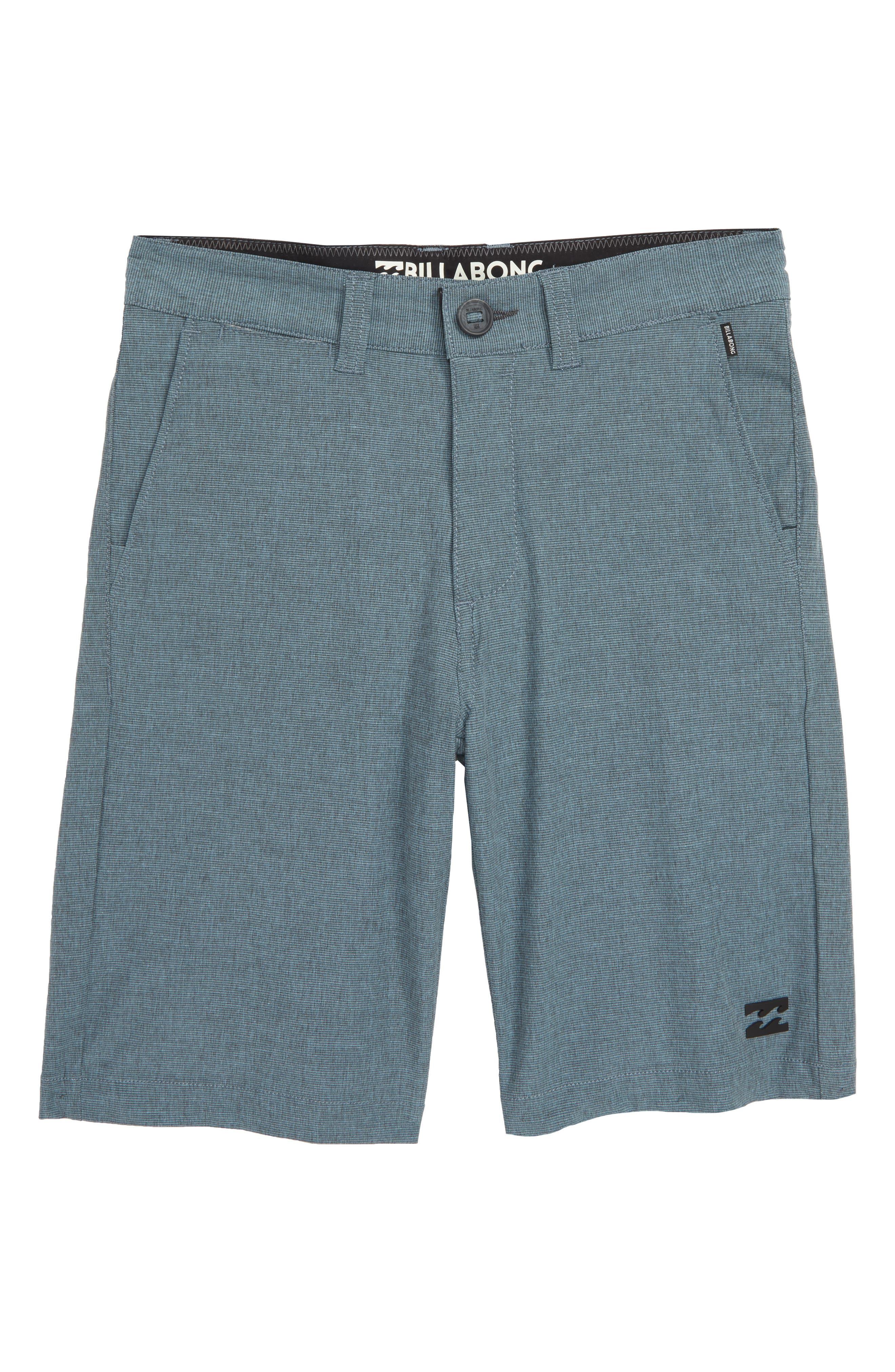 Crossfire X Hybrid Shorts,                             Main thumbnail 1, color,                             LAGOON