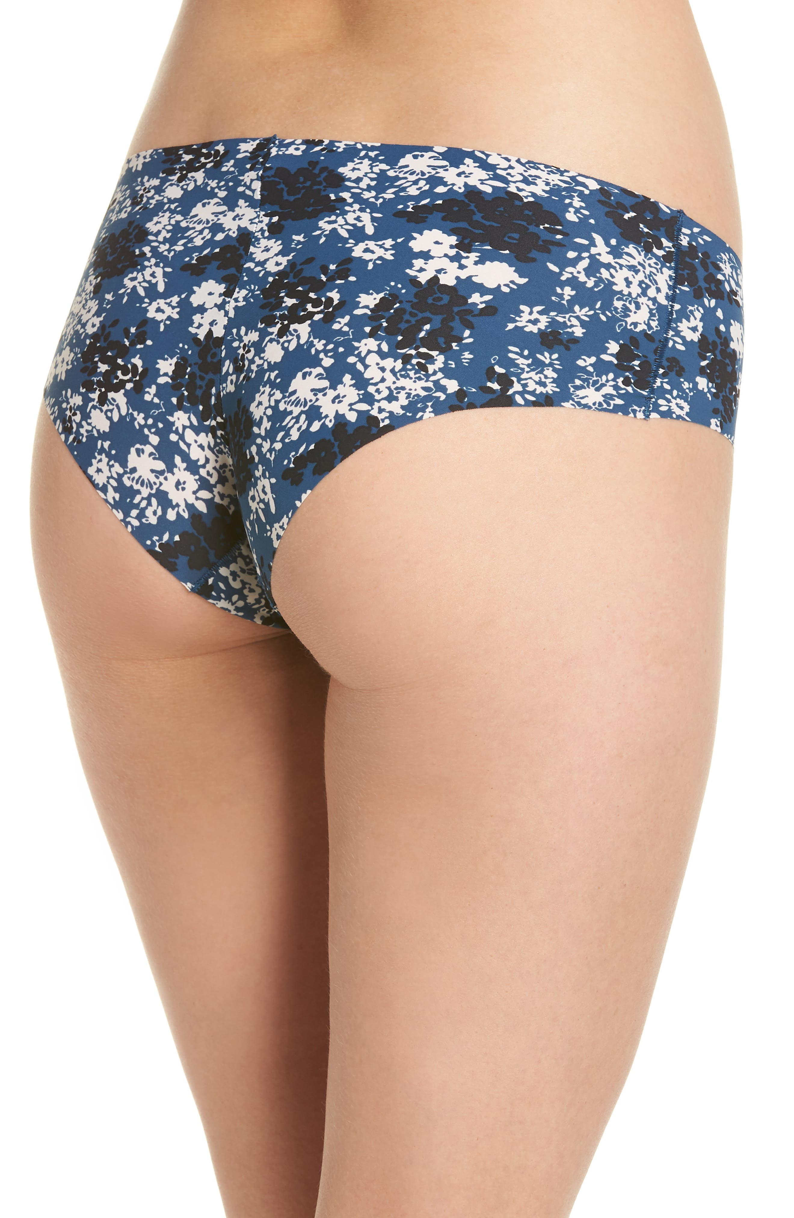 Invisibles Hipster Briefs,                             Alternate thumbnail 2, color,                             SIMPLE FLORAL/ LYRIA BLUE