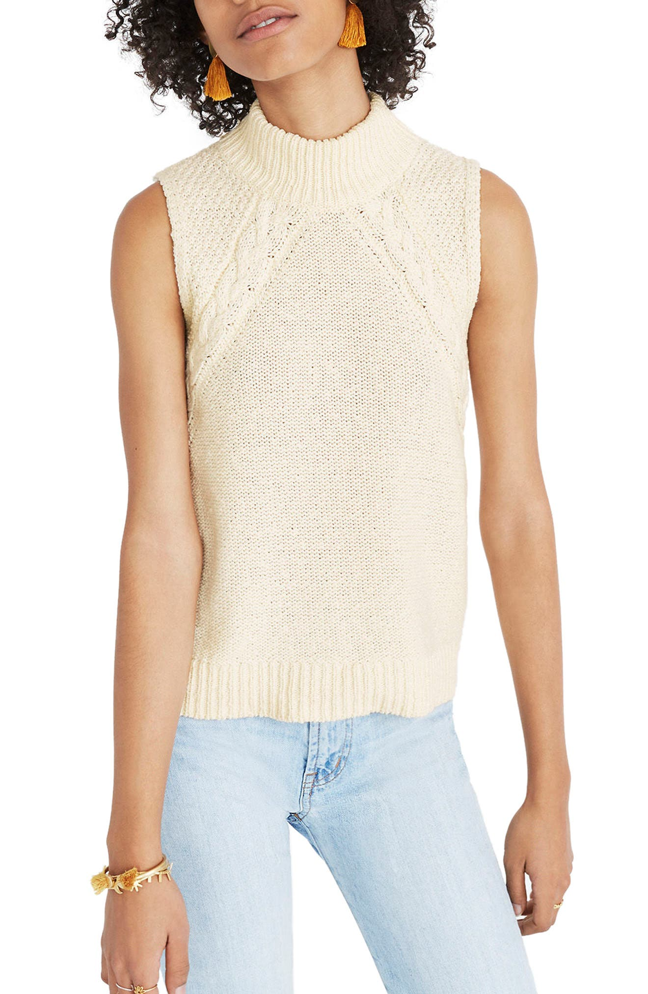 Mixed Stitch Sweater Tank,                         Main,                         color, 250
